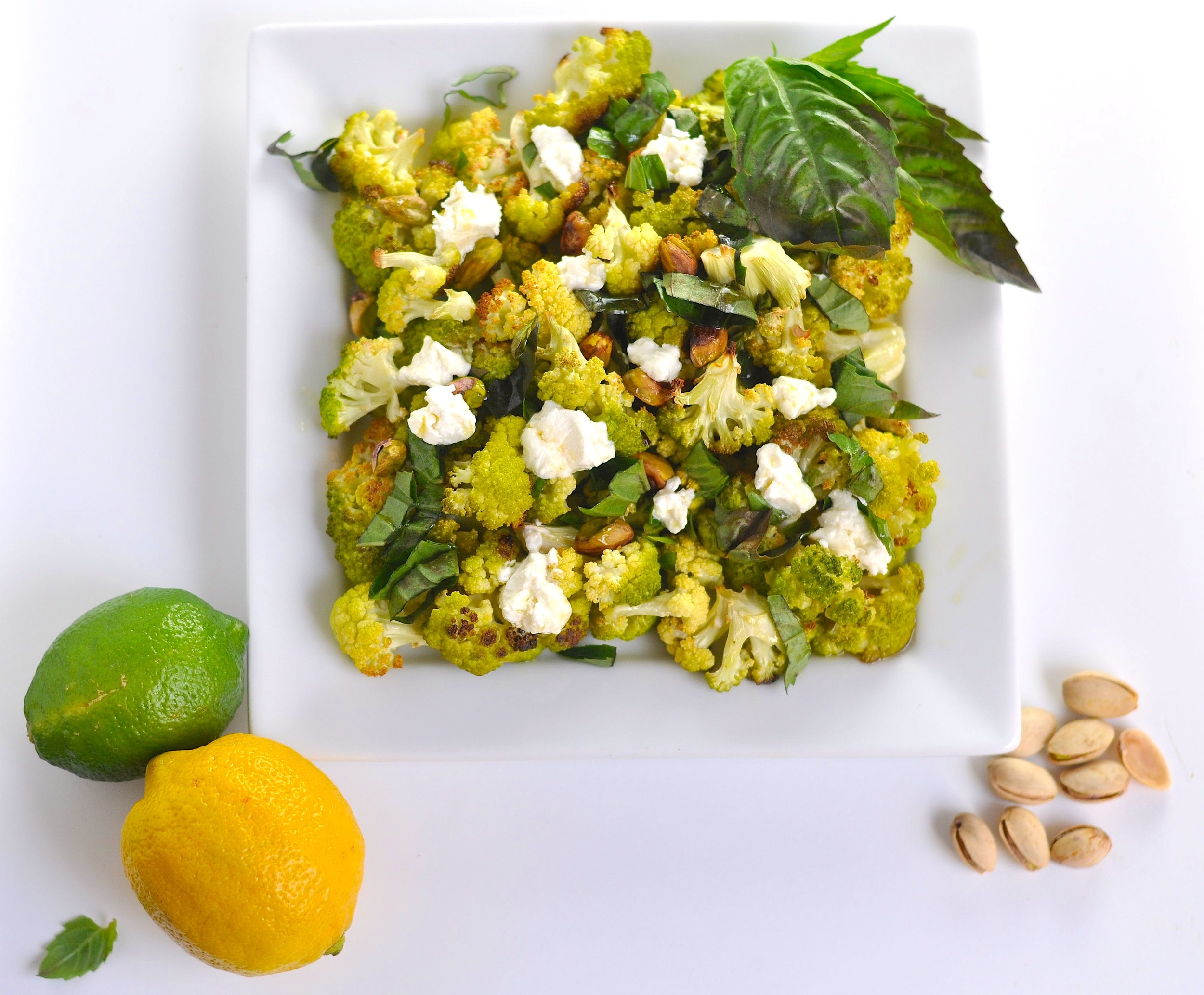 green cauli salad