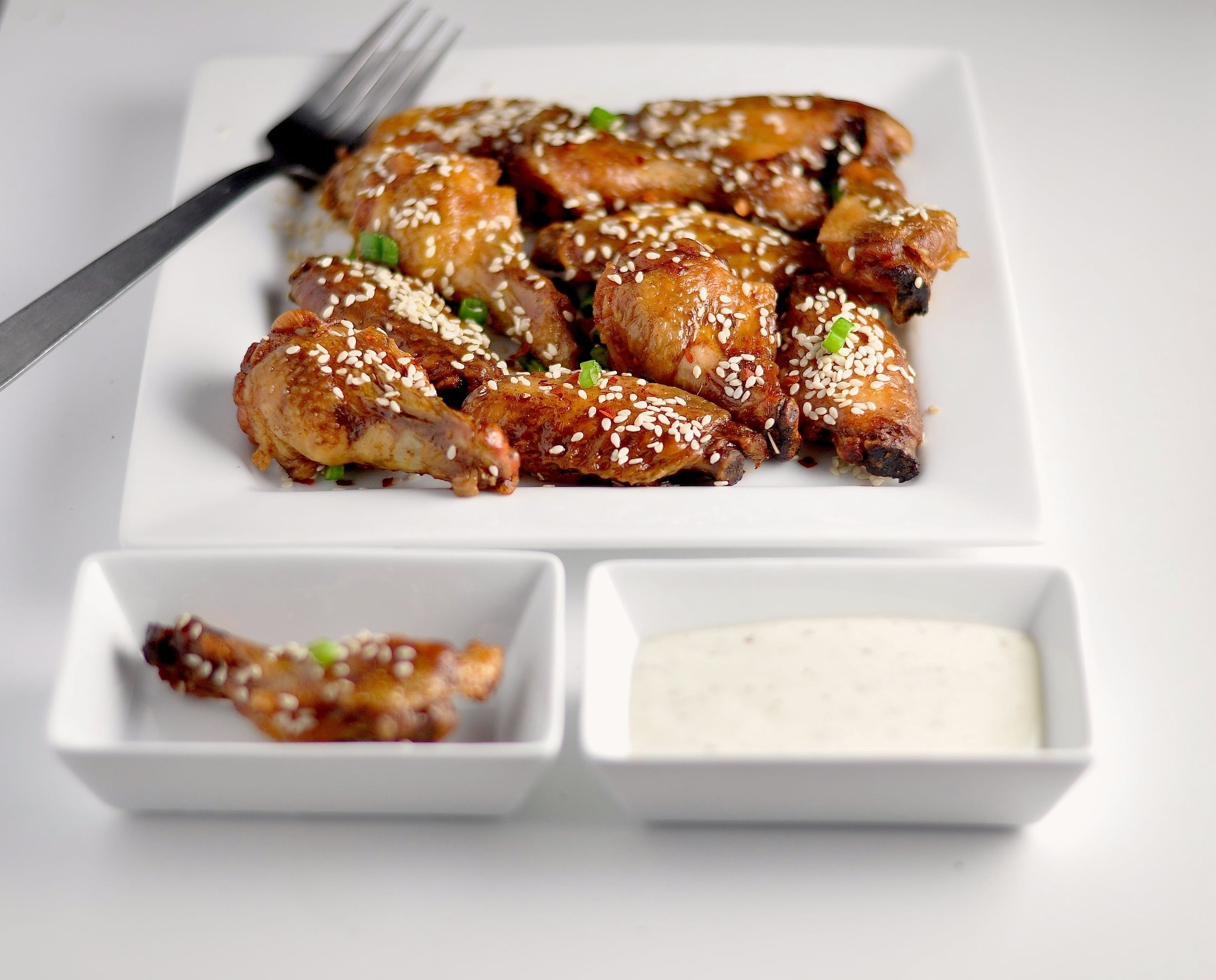 Low Carb Umami Sesame Wings