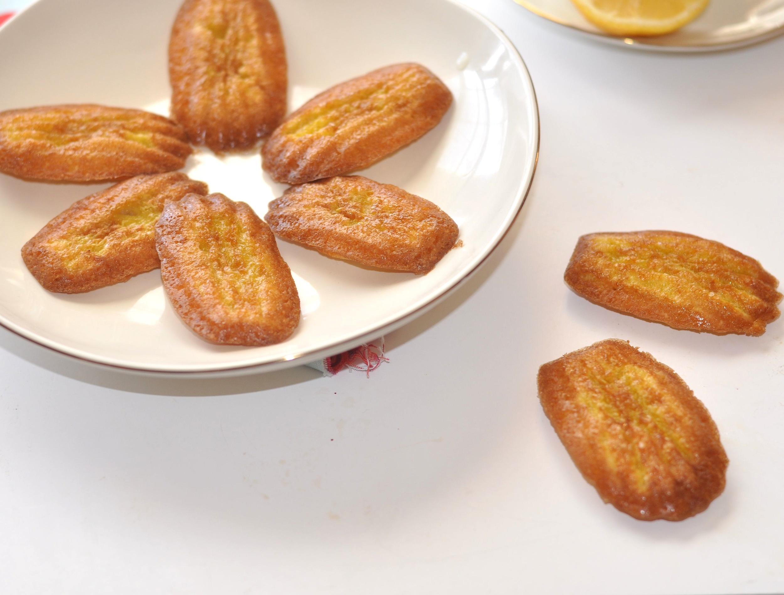 Low Carb Madeleines  2