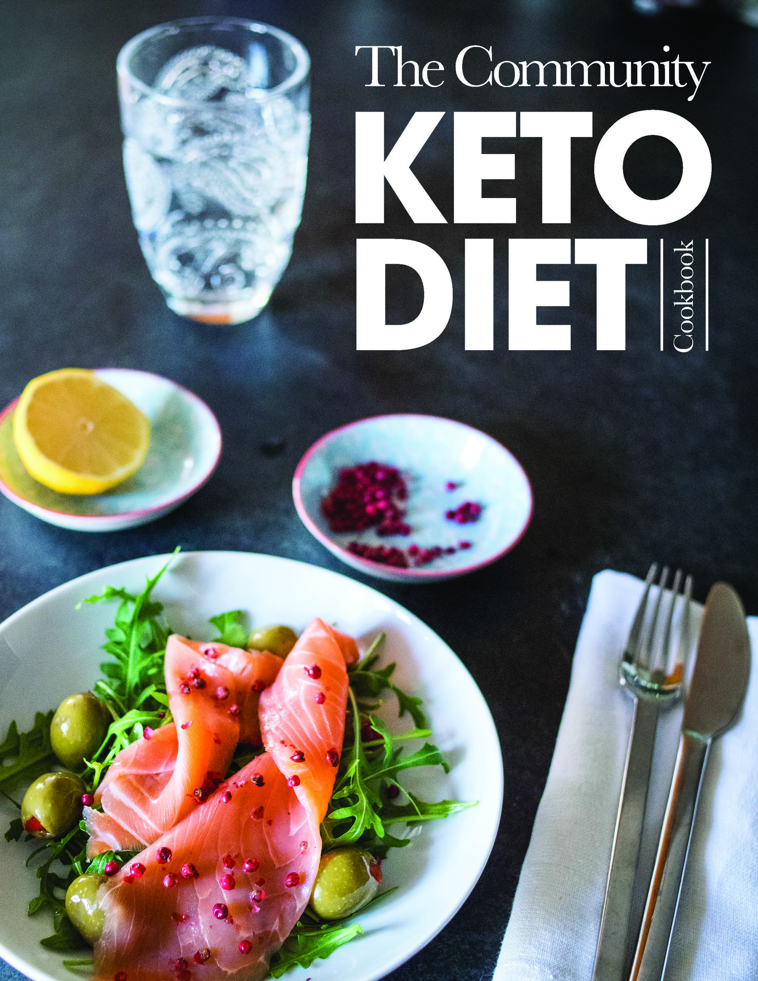keto community diet cookbook cover