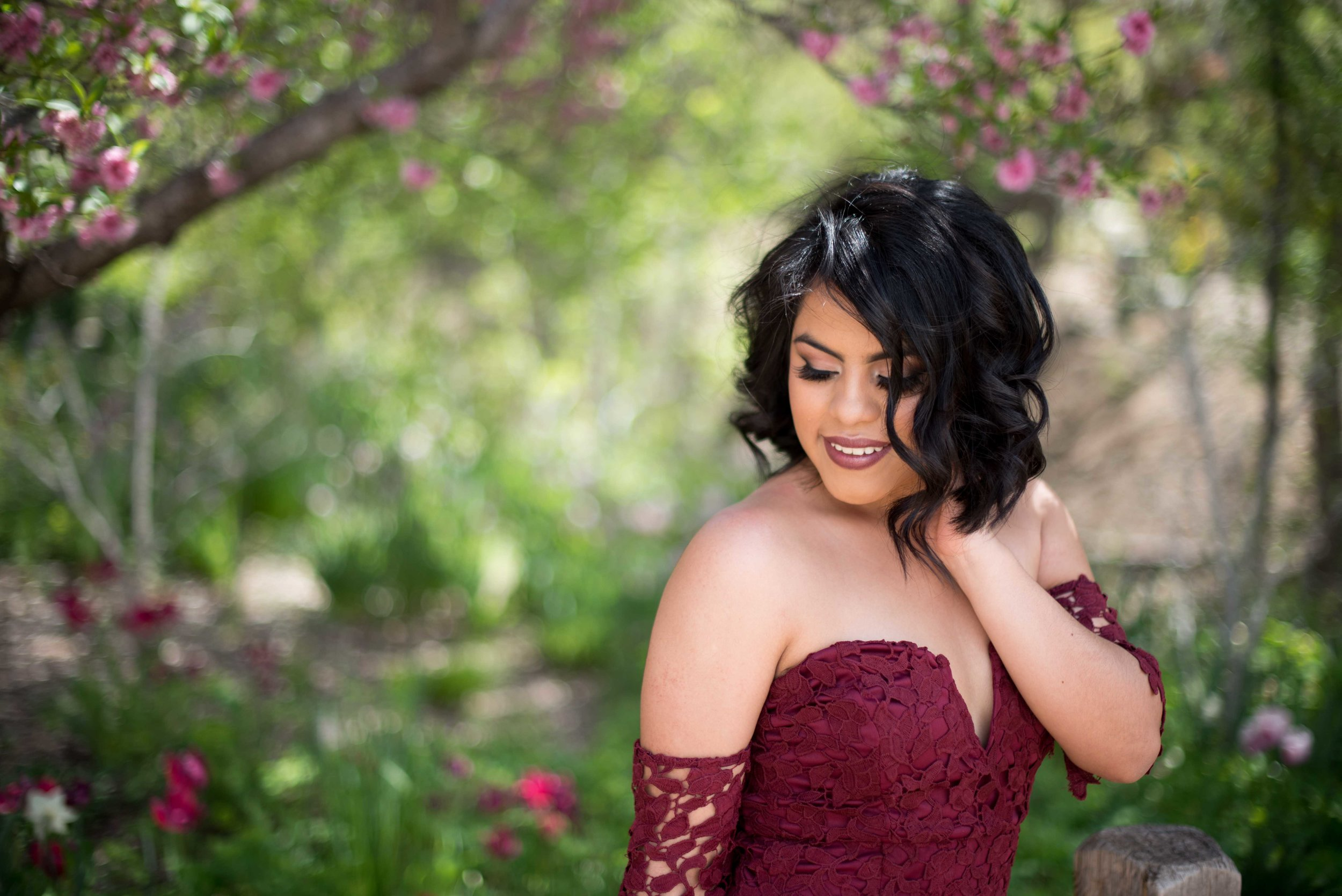 spring senior session albuquerque