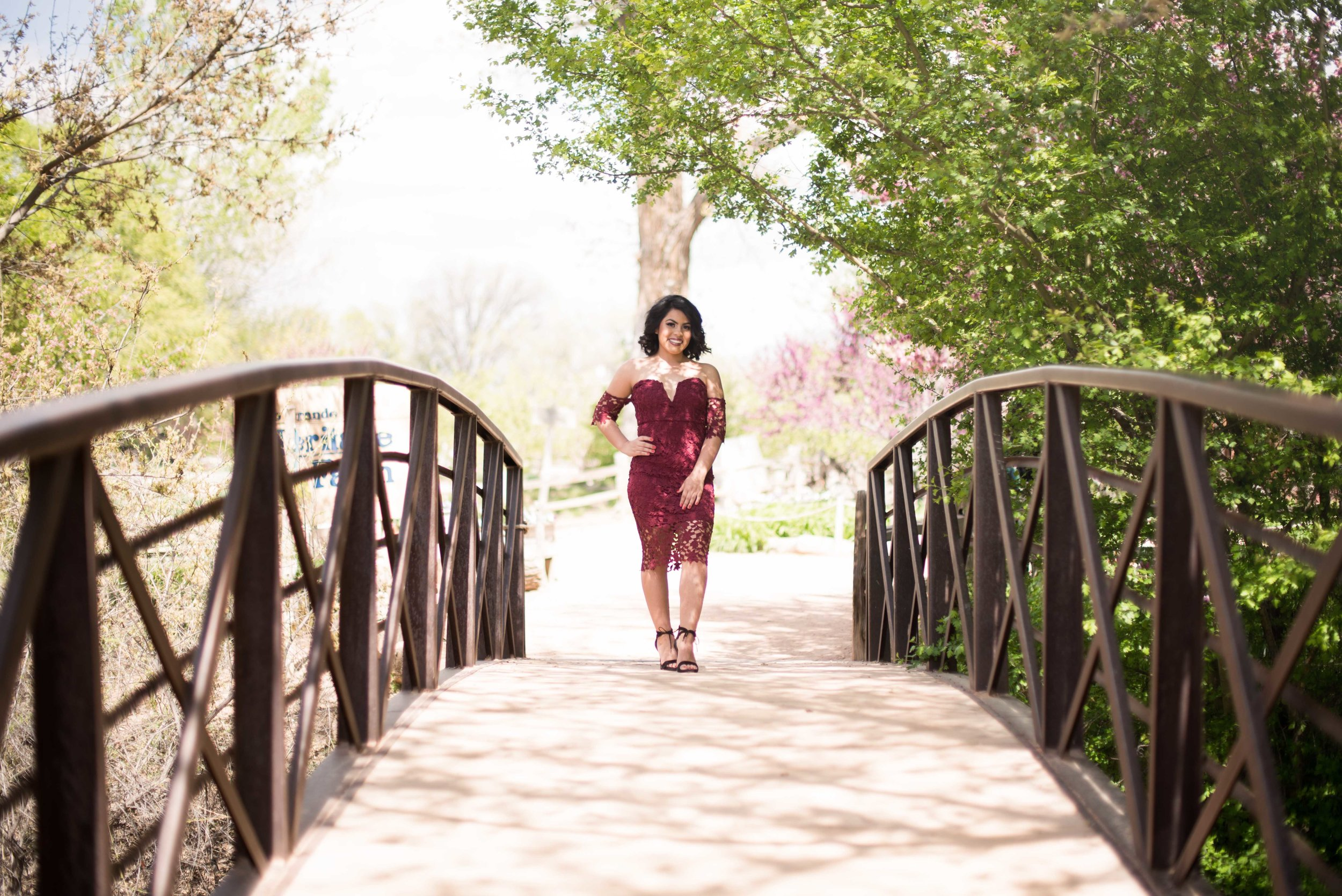 summer senior photo session albuquerque
