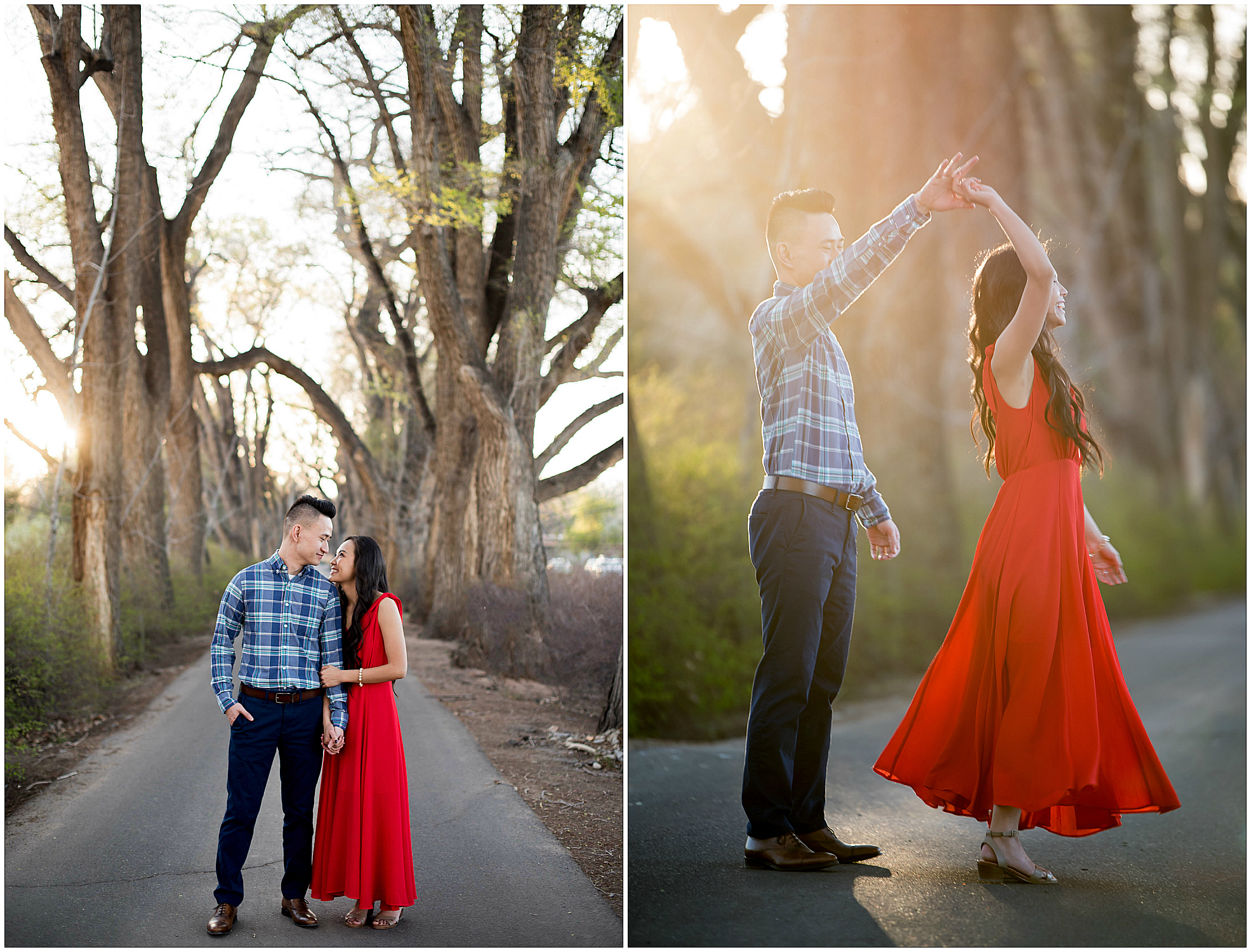 new mexico engagement photographers