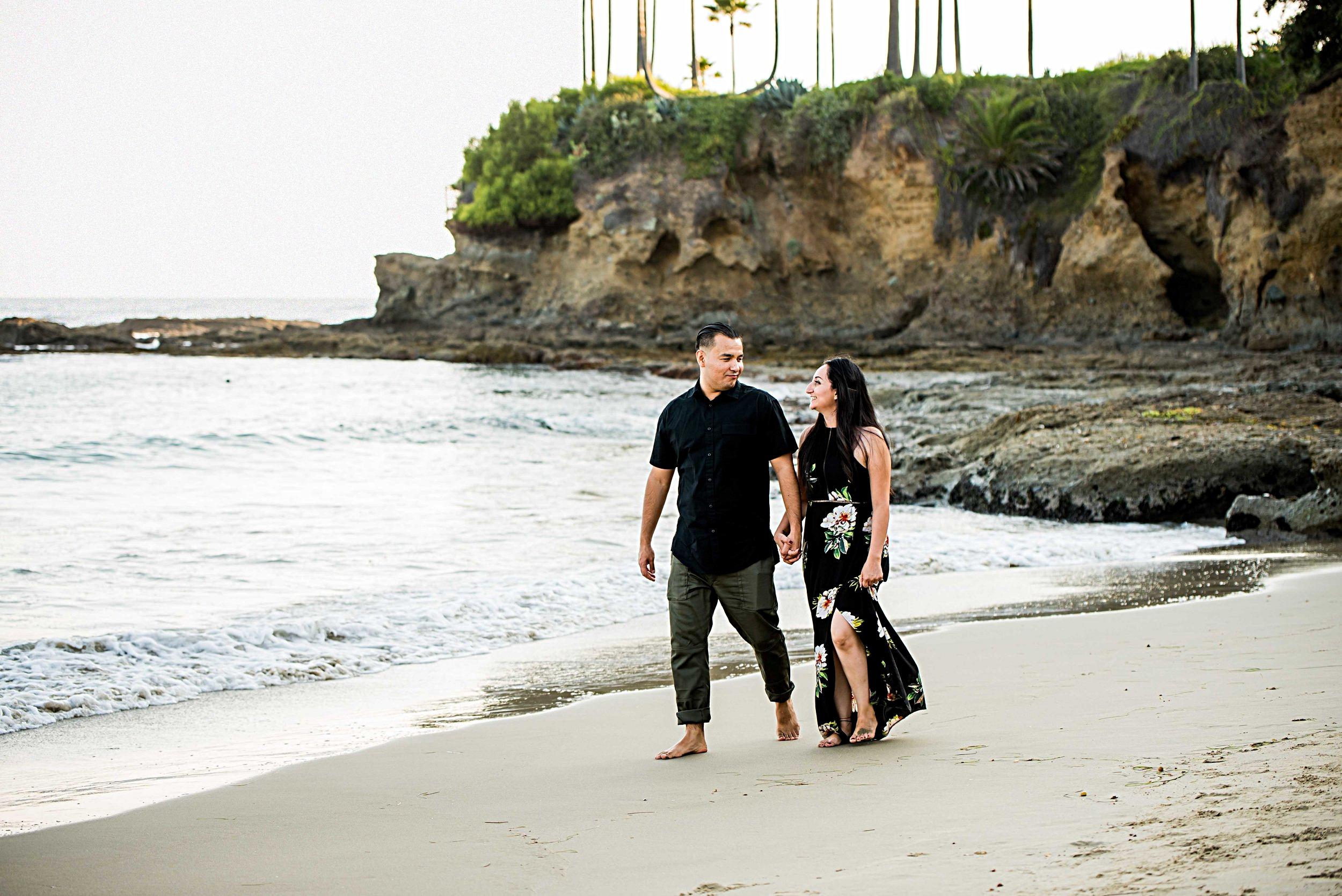 engagement photographers laguna beach california