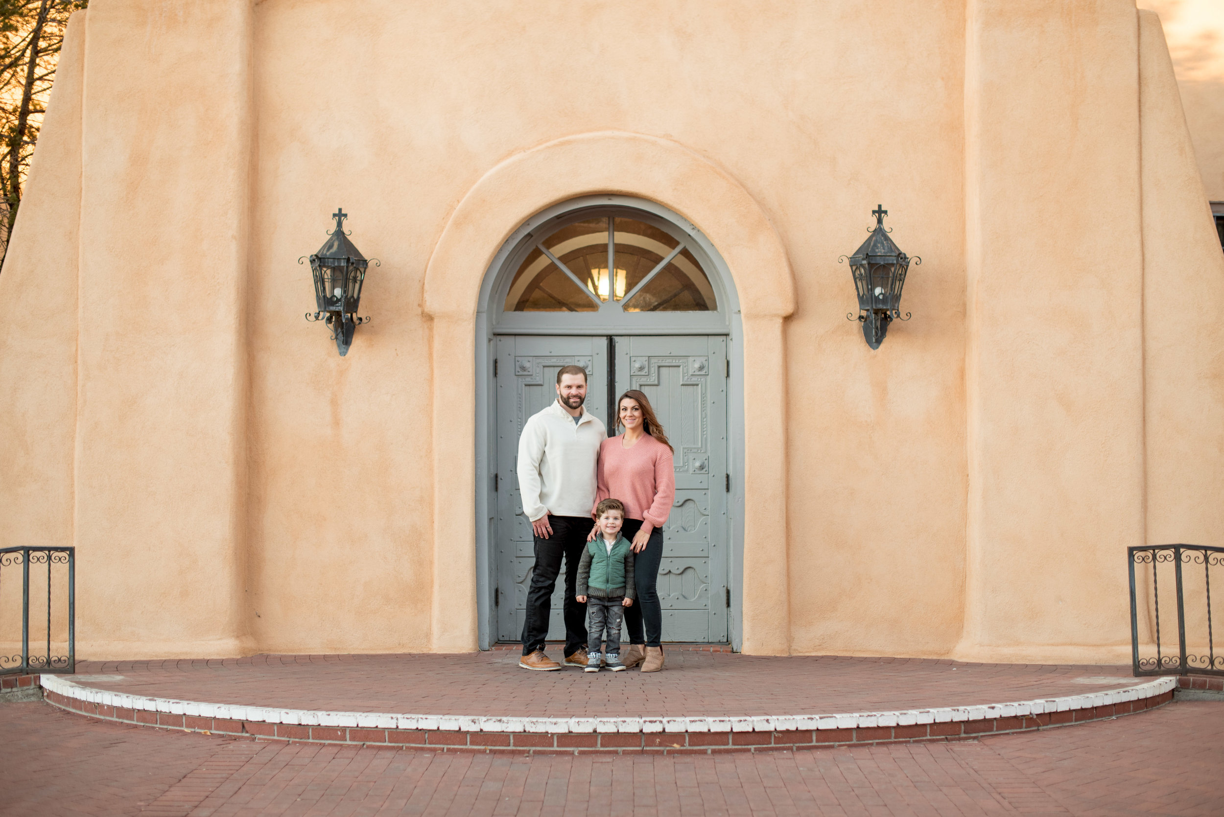 old town albuquerque family photographers