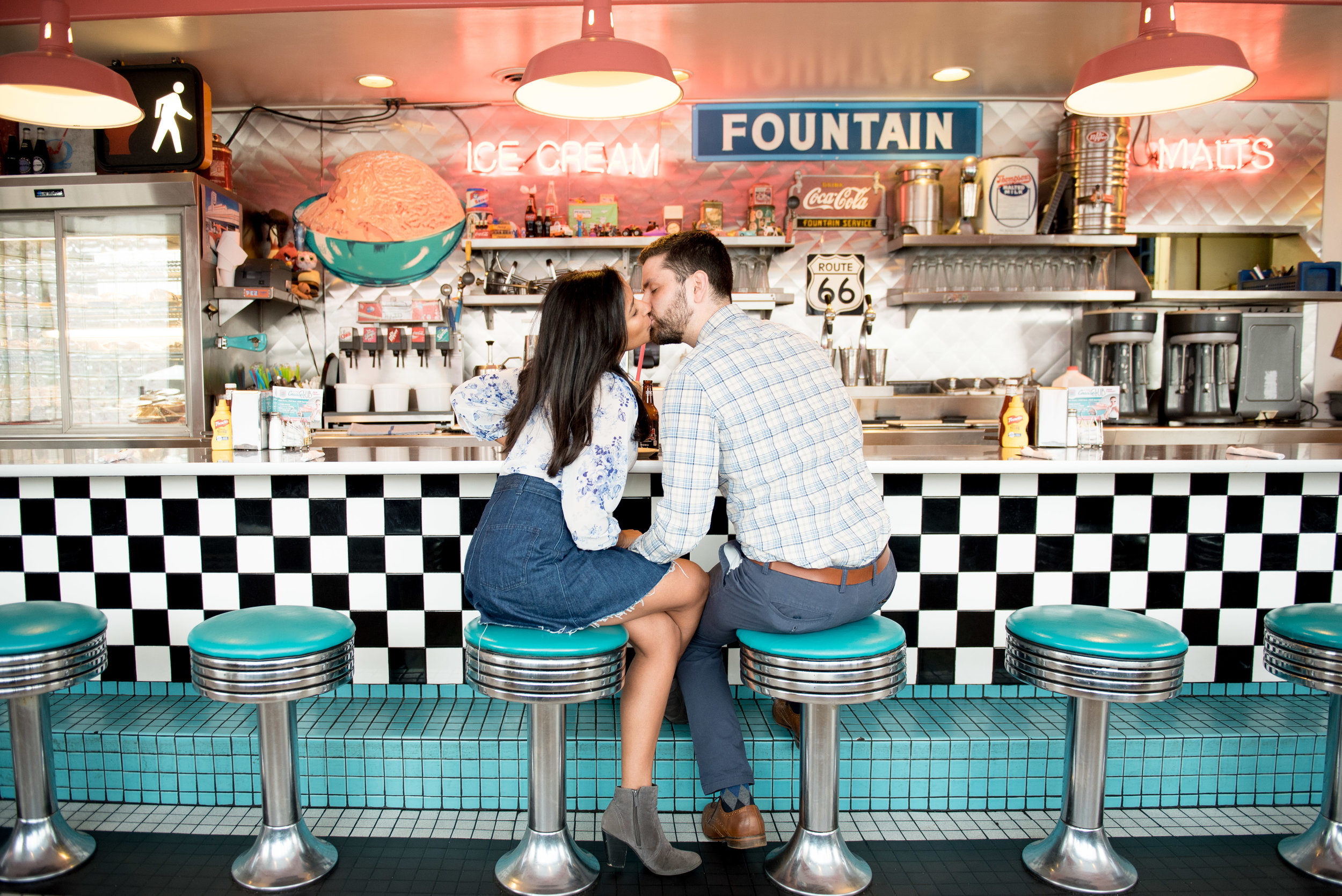route 66 diner photos
