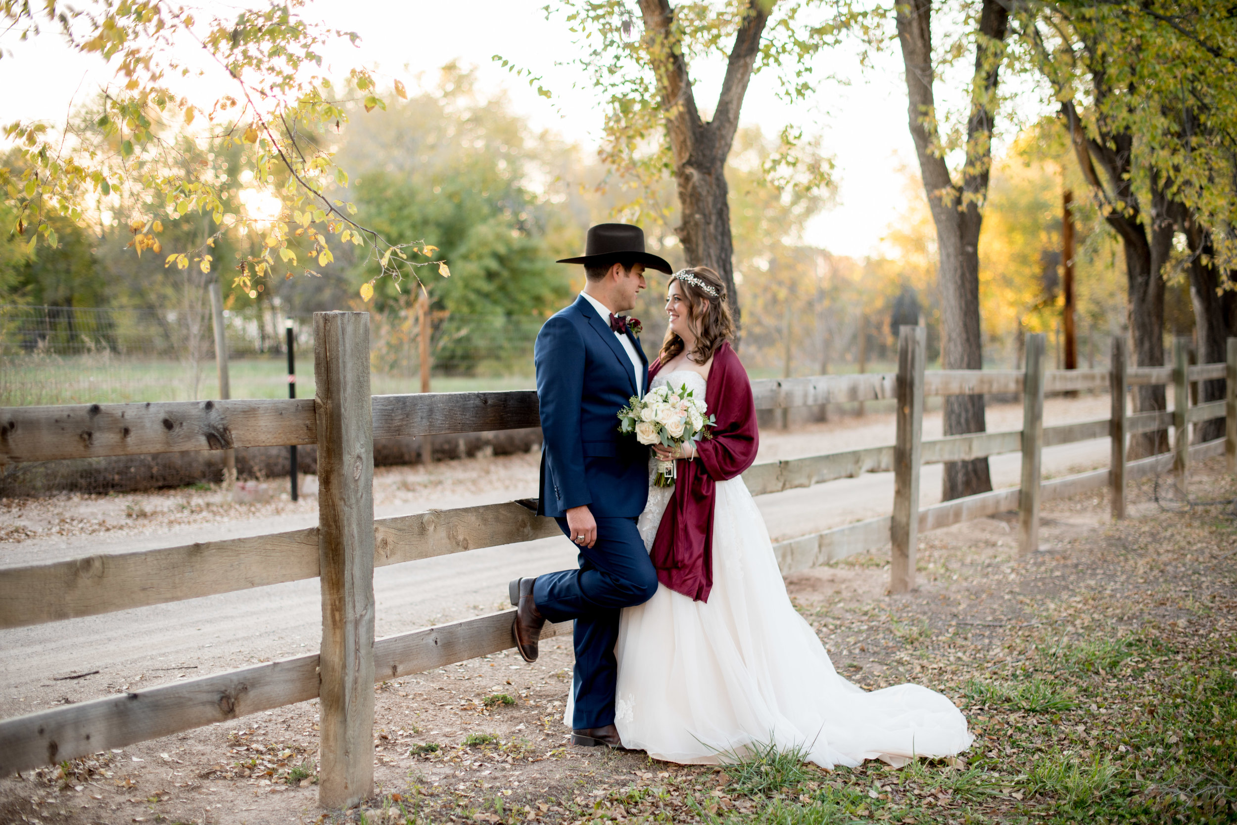 Albuquerque Old Town Farm Wedding Photographer
