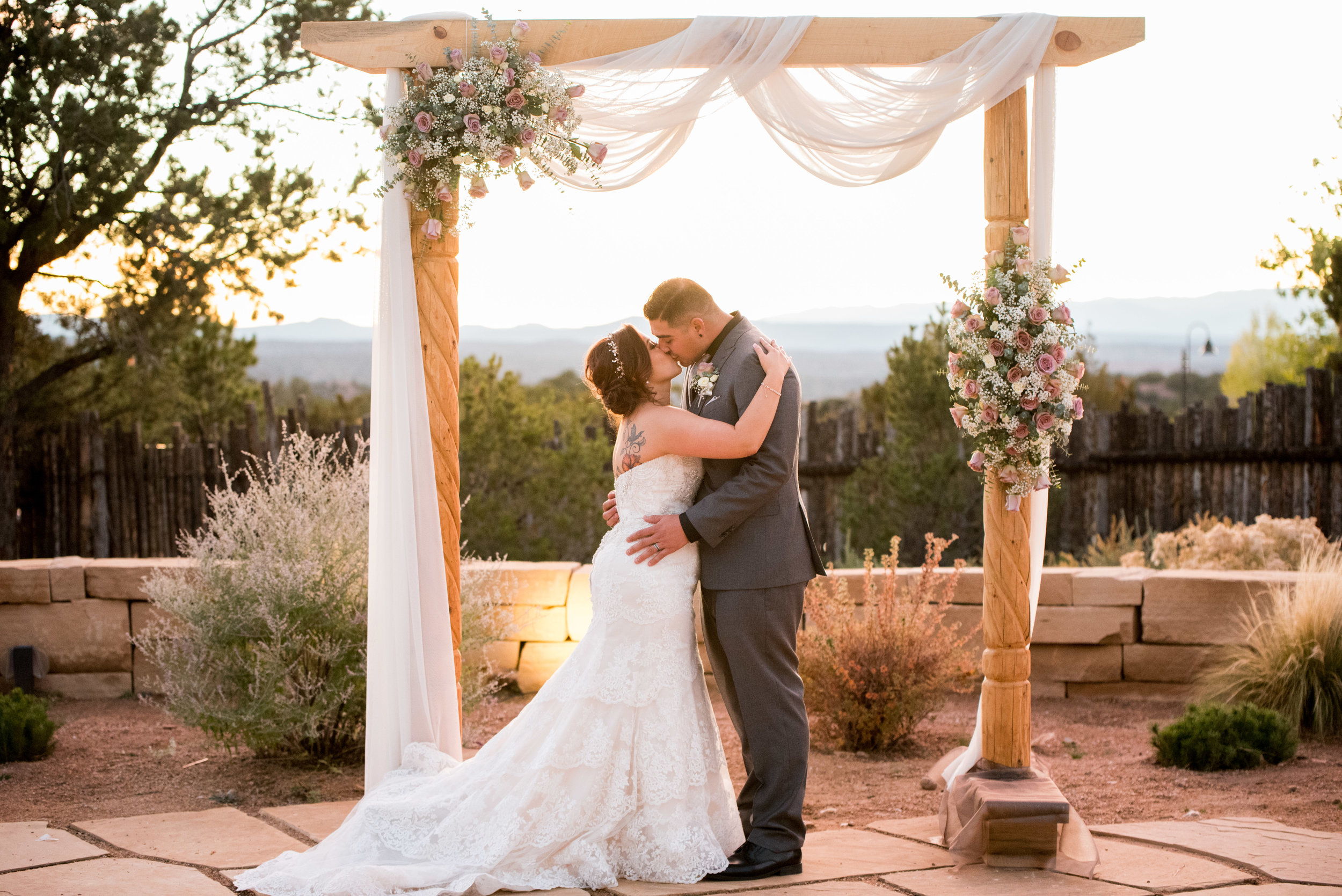 four seasons santa fe wedding photographer