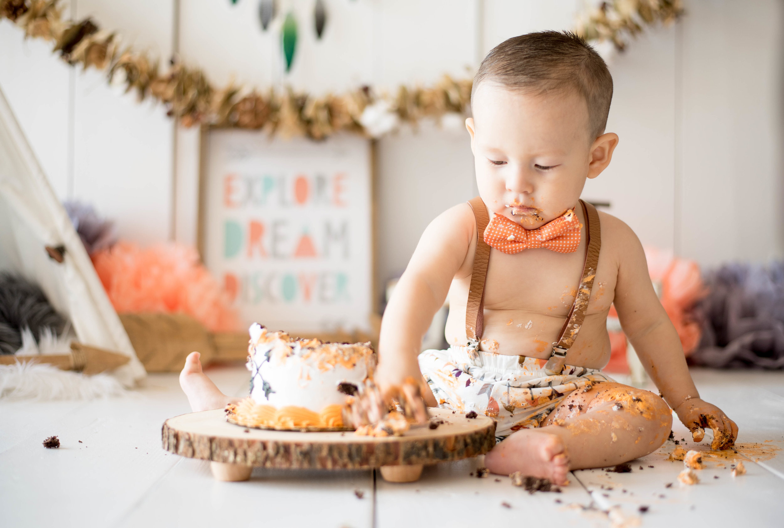 albuquerque smash cake photographer