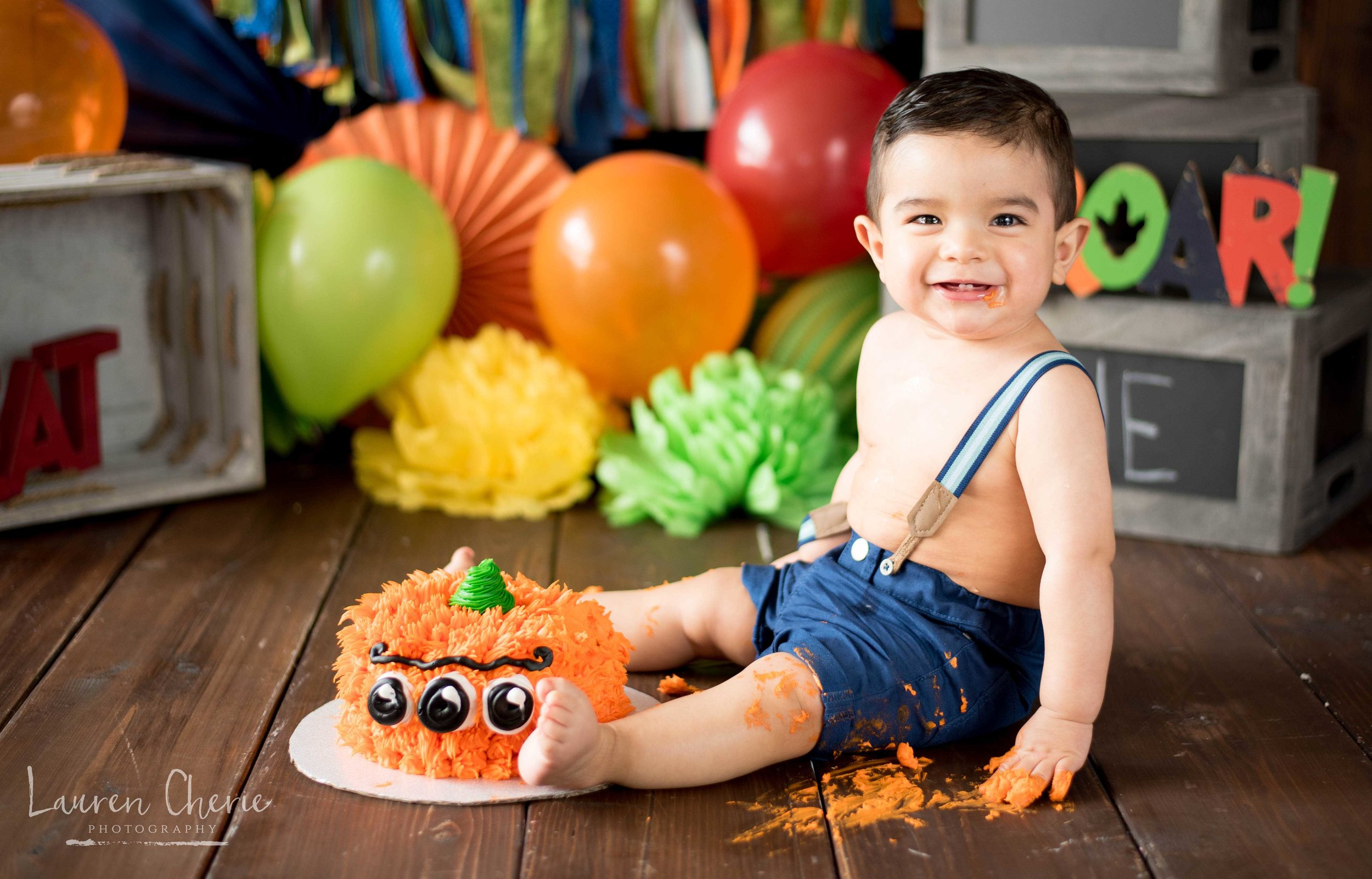 cake smash photography santa fe