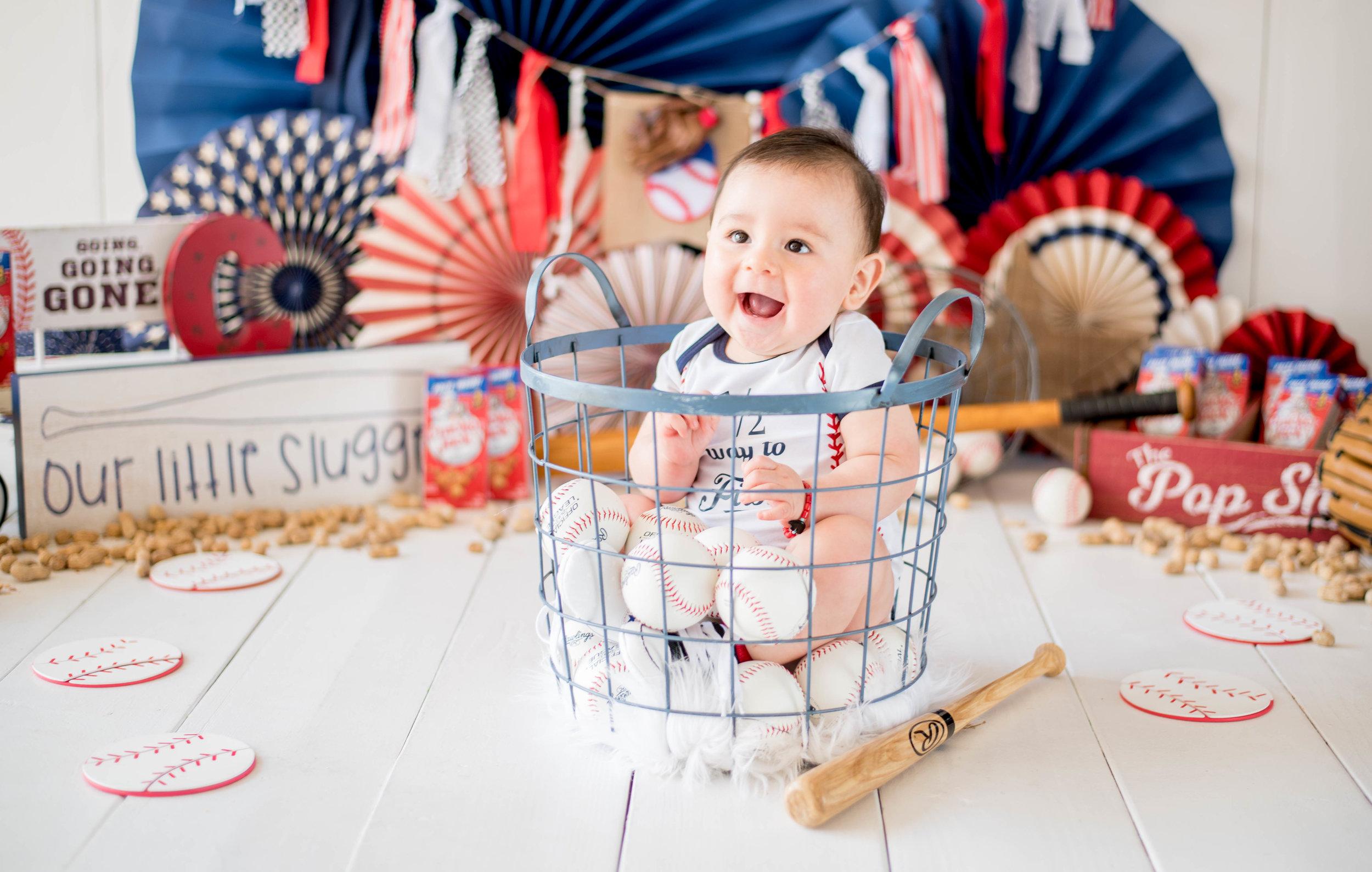 Baby Boy Milestone Pictures