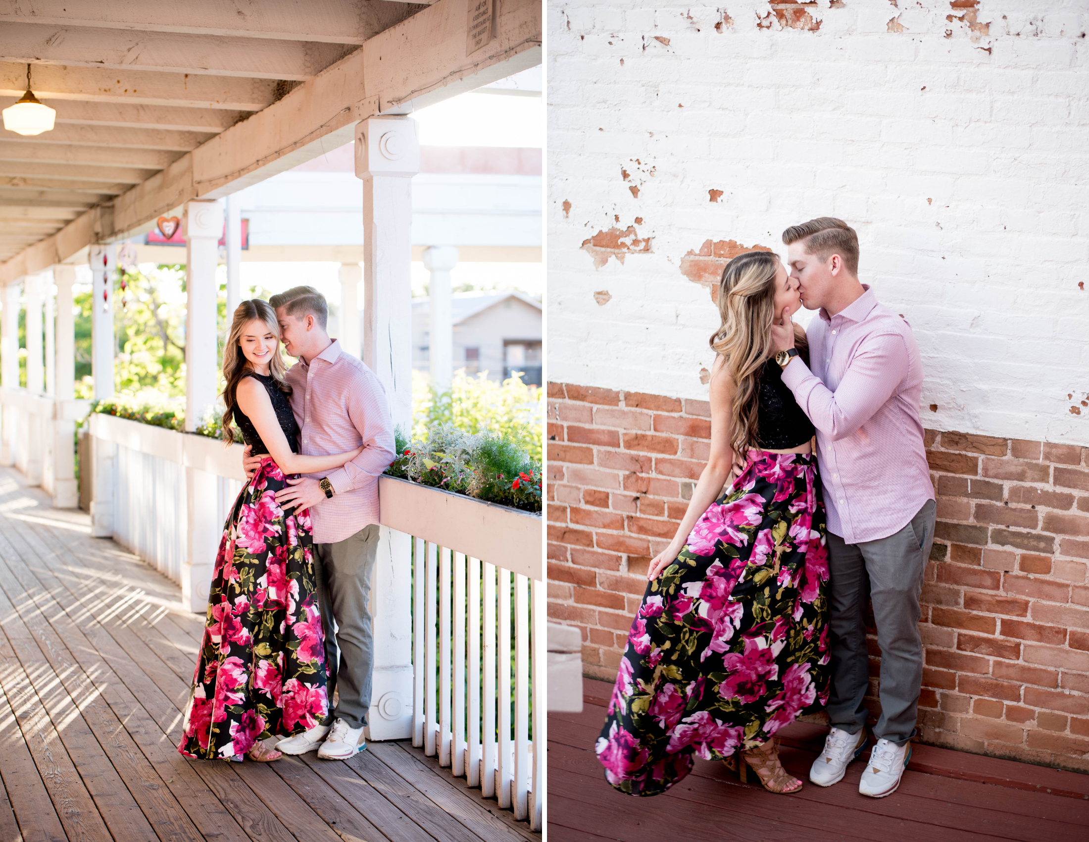 Old Town Engagement Photoshoot