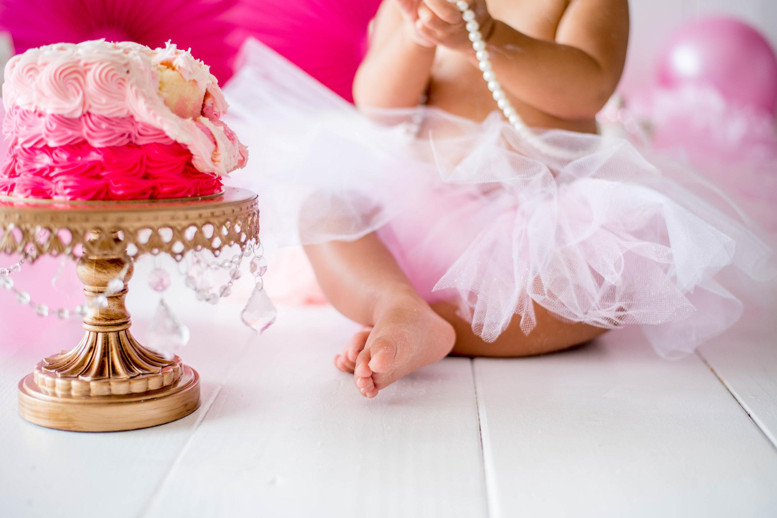 Baby Girl Cake Smash