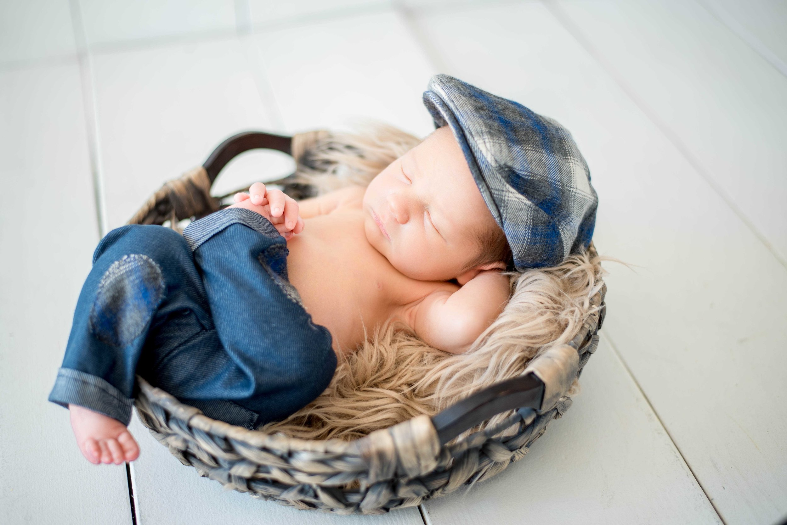 santa fe newborn photographer