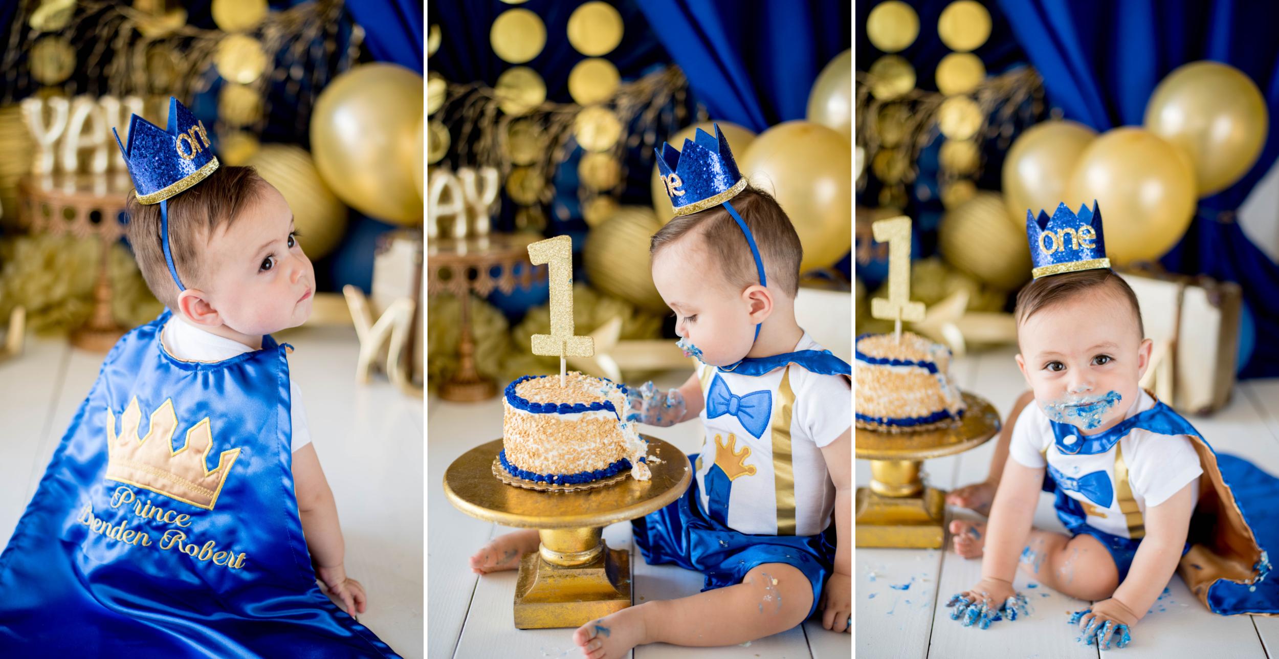Prince Charming Cake Smash