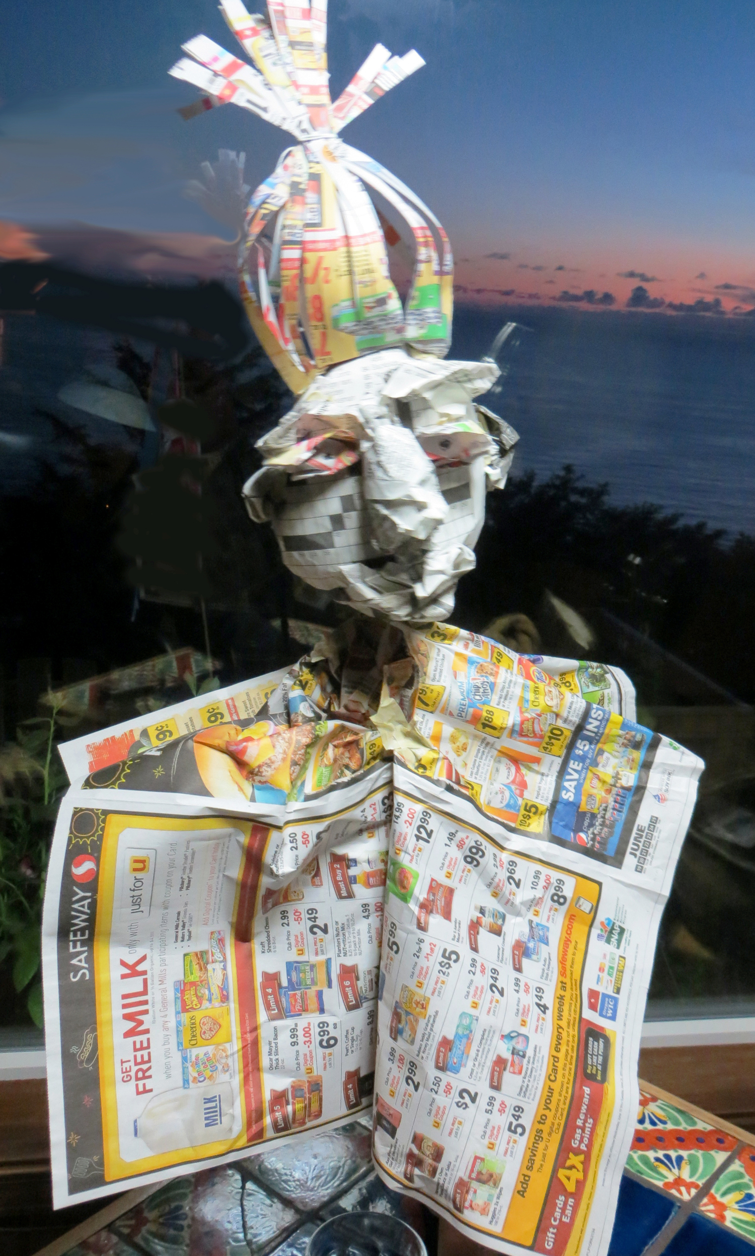 Newspaper Magician