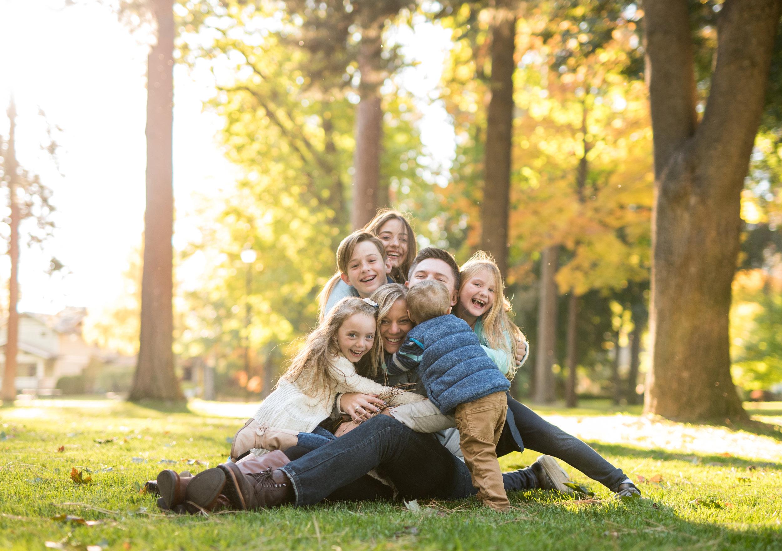 family shoot in coeur d alene idaho