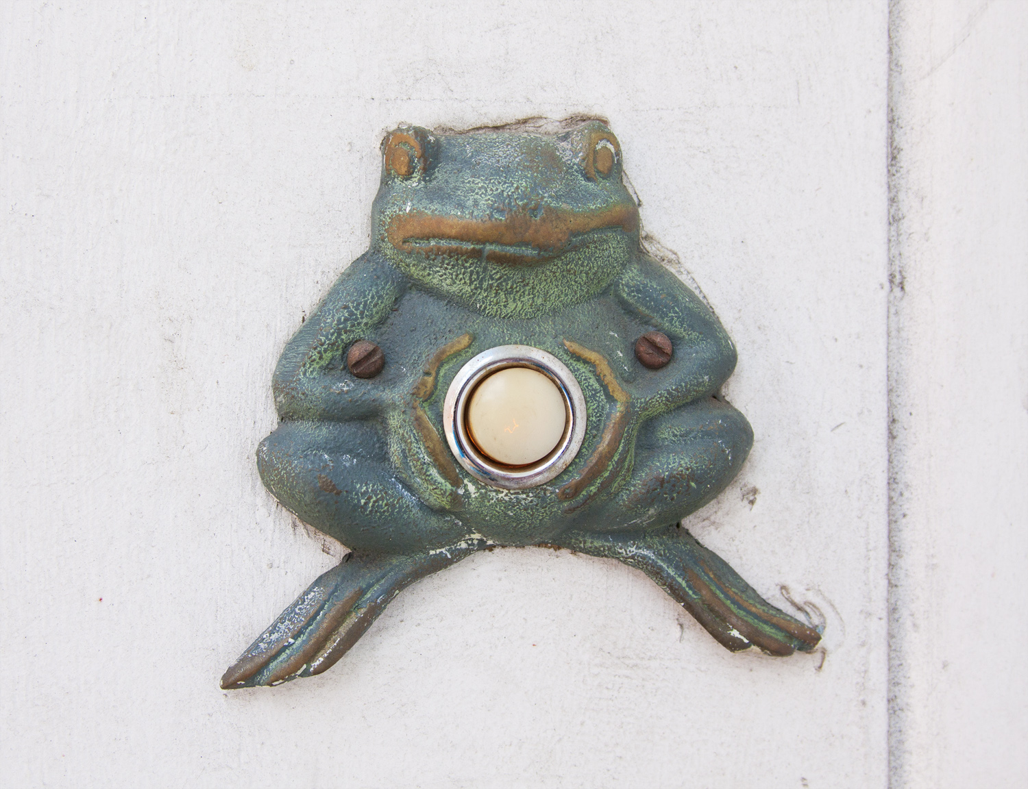 Frog Belly Button