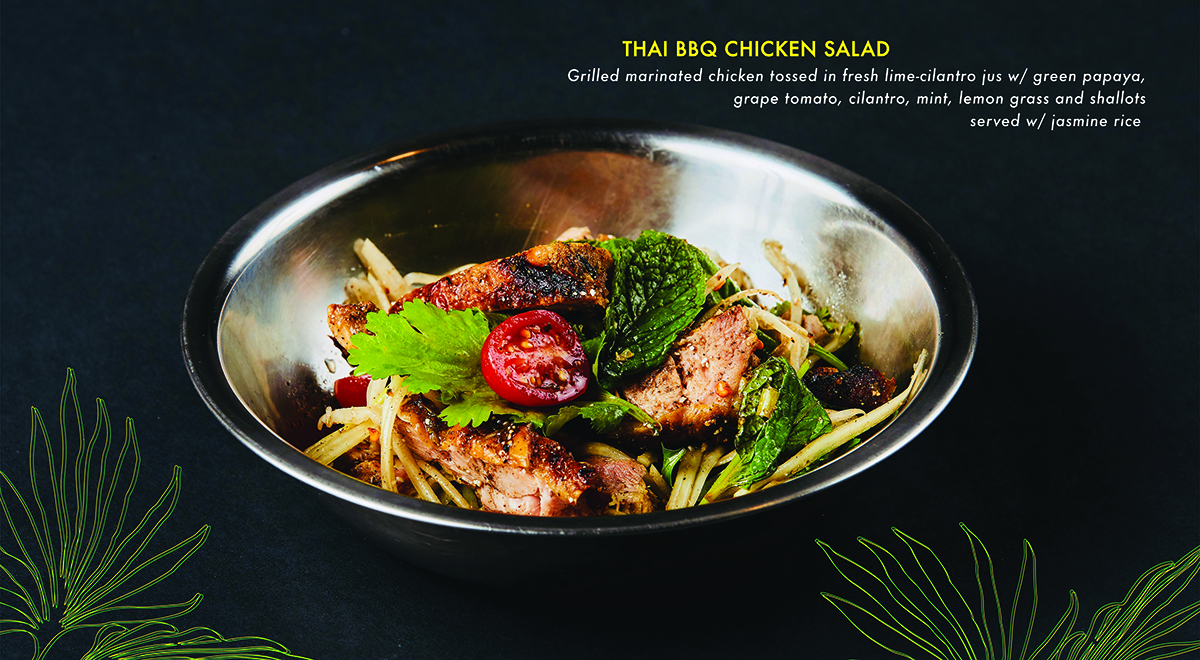 THAI BBQ CHICKEN SALAD