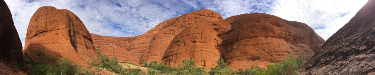 In the middle of Kata Tjuta, NT