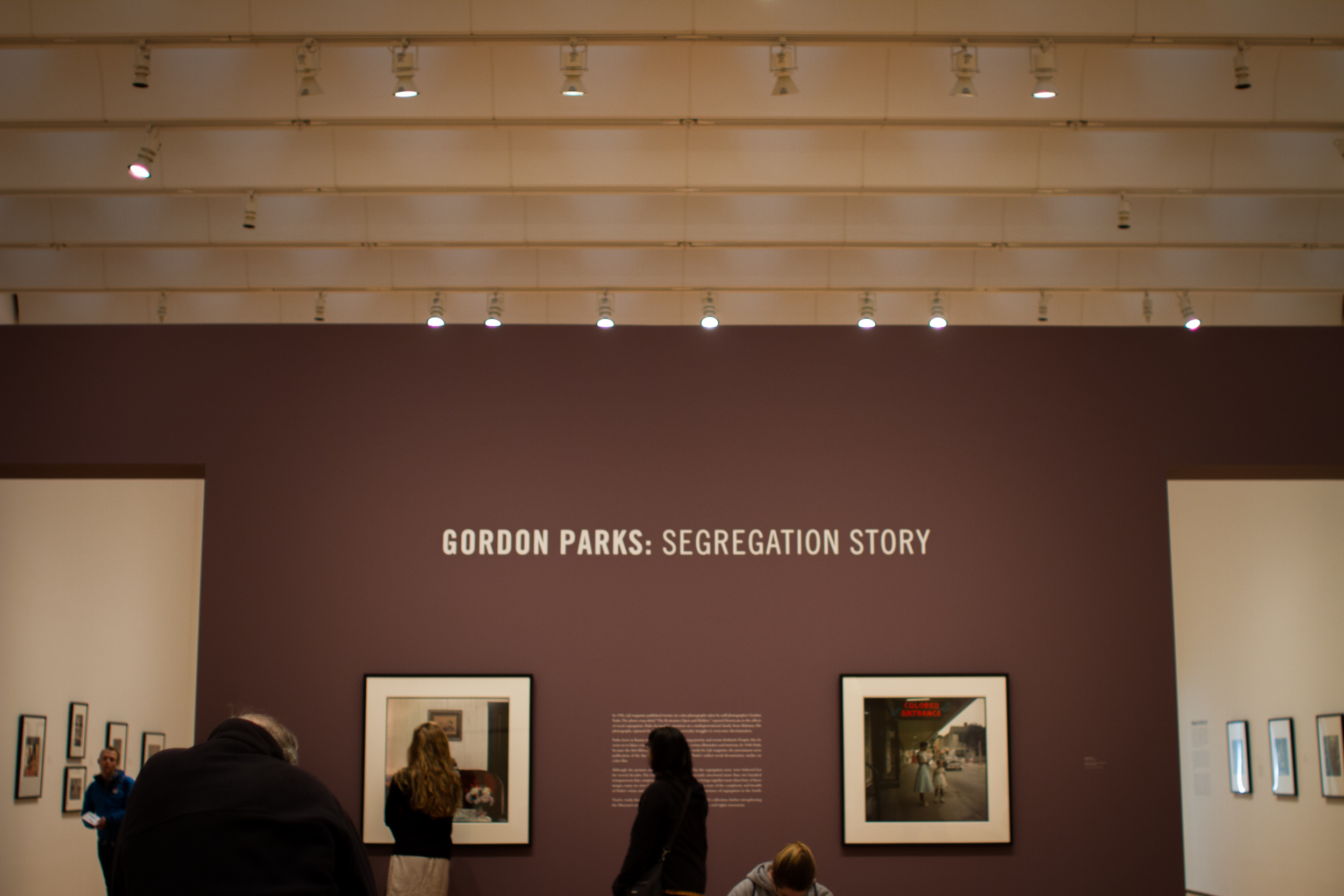 Gordon Parks: Segregation Story at the High Museum of Art in Atlanta, photo by Abby Whisler