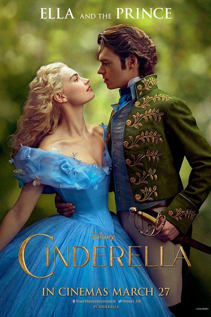 Cinderella Movie Poster, Photo from www.fashiongonerogue.com