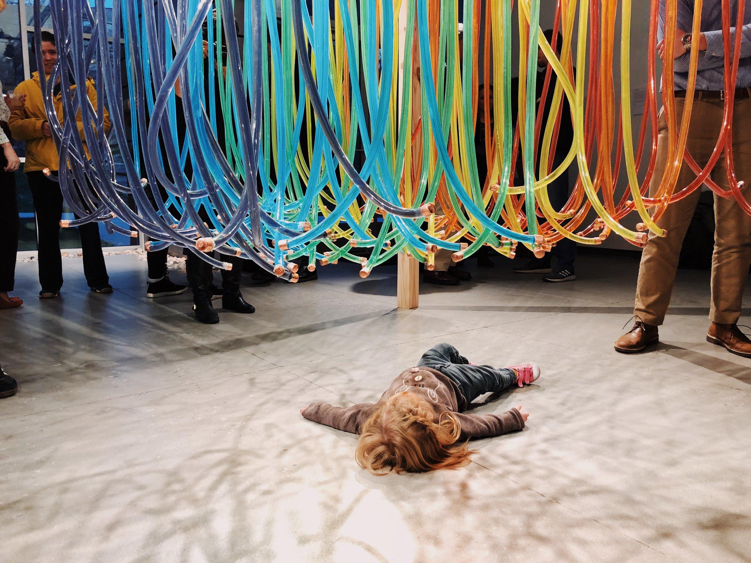 "Marjke Griffin's piece, ""Doxology in Color."" Photo by Marjke Griffin."