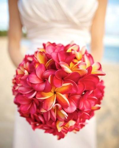 Anna Kim Photography  Plumeria Bouquet - Season: May - November