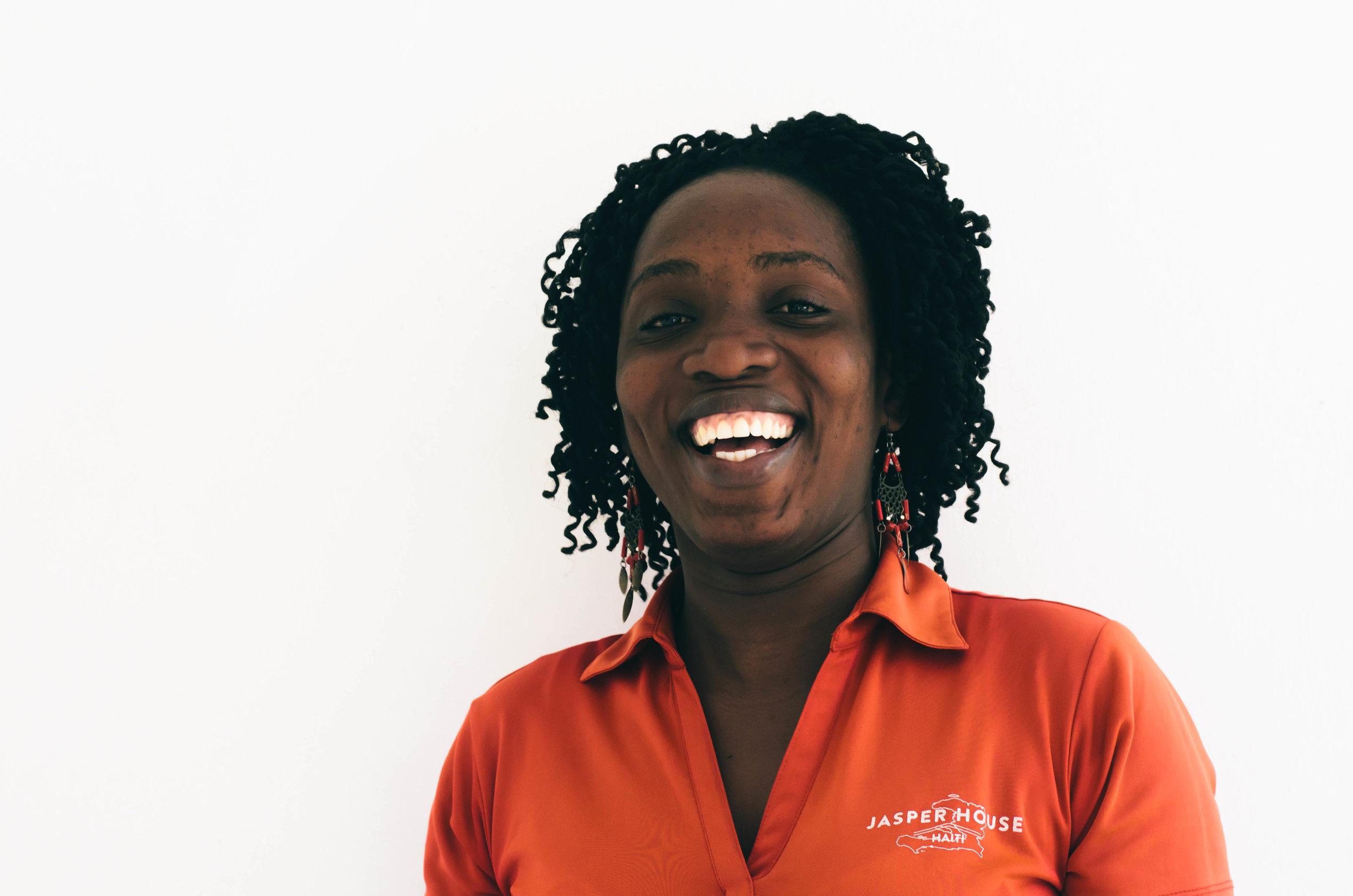 Islande, Jasper House Haiti Office Administrator.