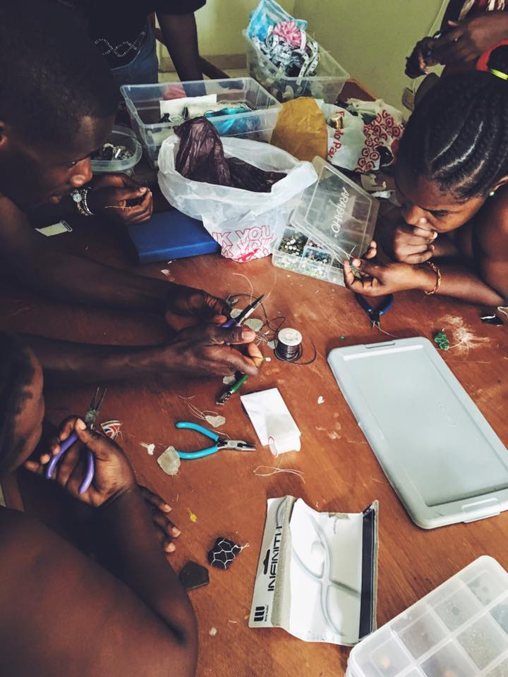 2016 | The first jewelry prototypes being made at Jasper House.