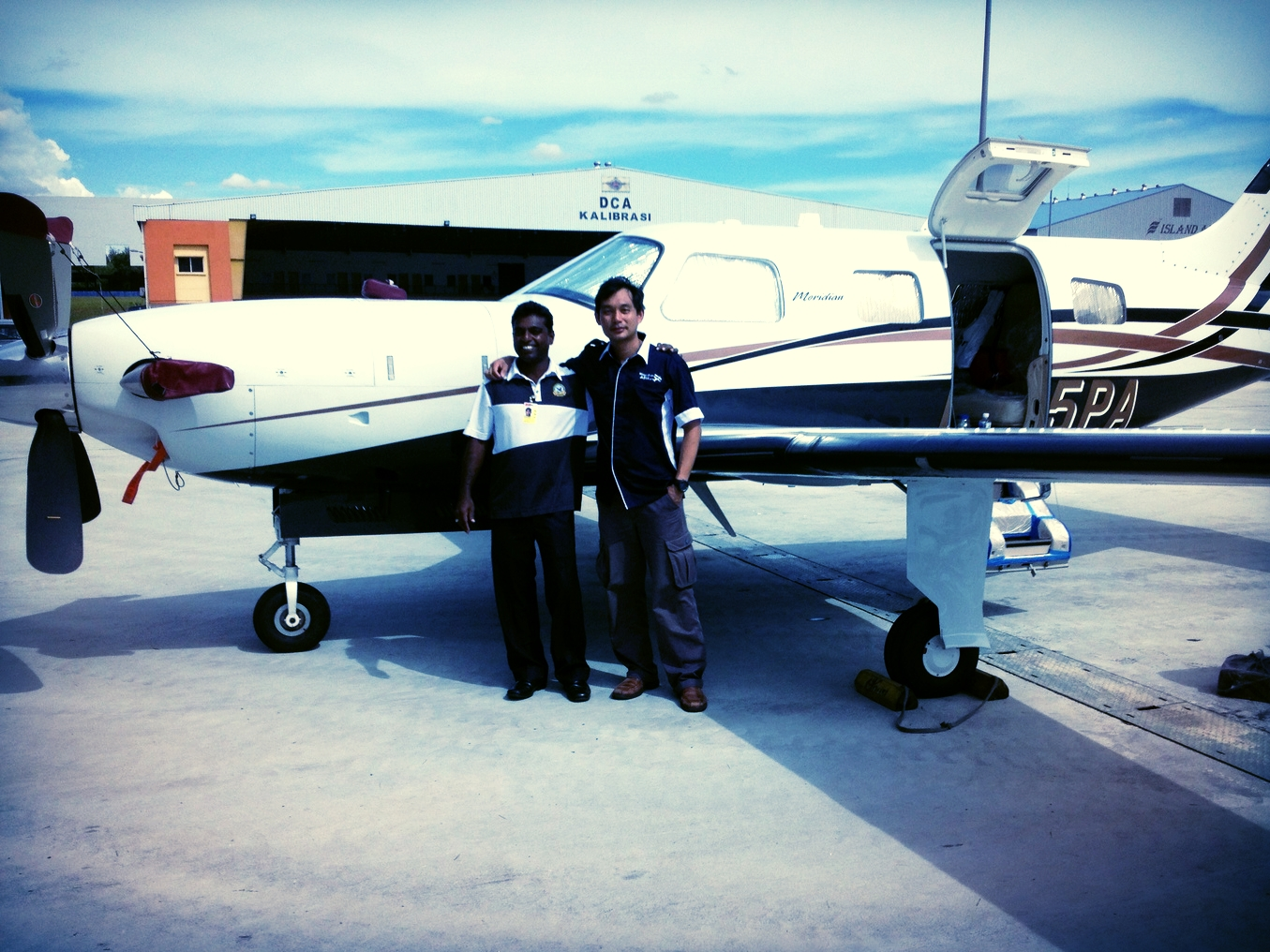 Aircraft safely handed over in Malaysia after ferry flight from USA by WOA pilot with owner.
