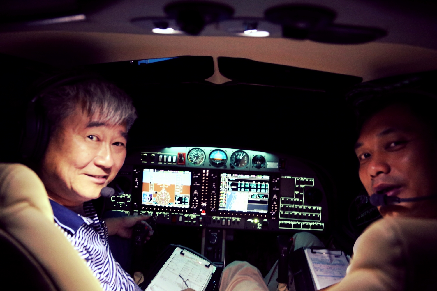 In-house instructor pilots provides aircraft familiarization training and mentor flying.