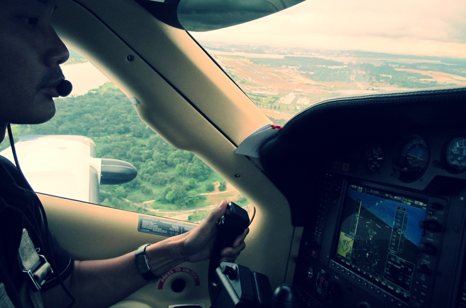Turboprop and local area familiarization training over Seletar airport, Singapore - ensuring you are always at the top of the game as you enjoy the private aviation lifestyle with your loved ones and friends.