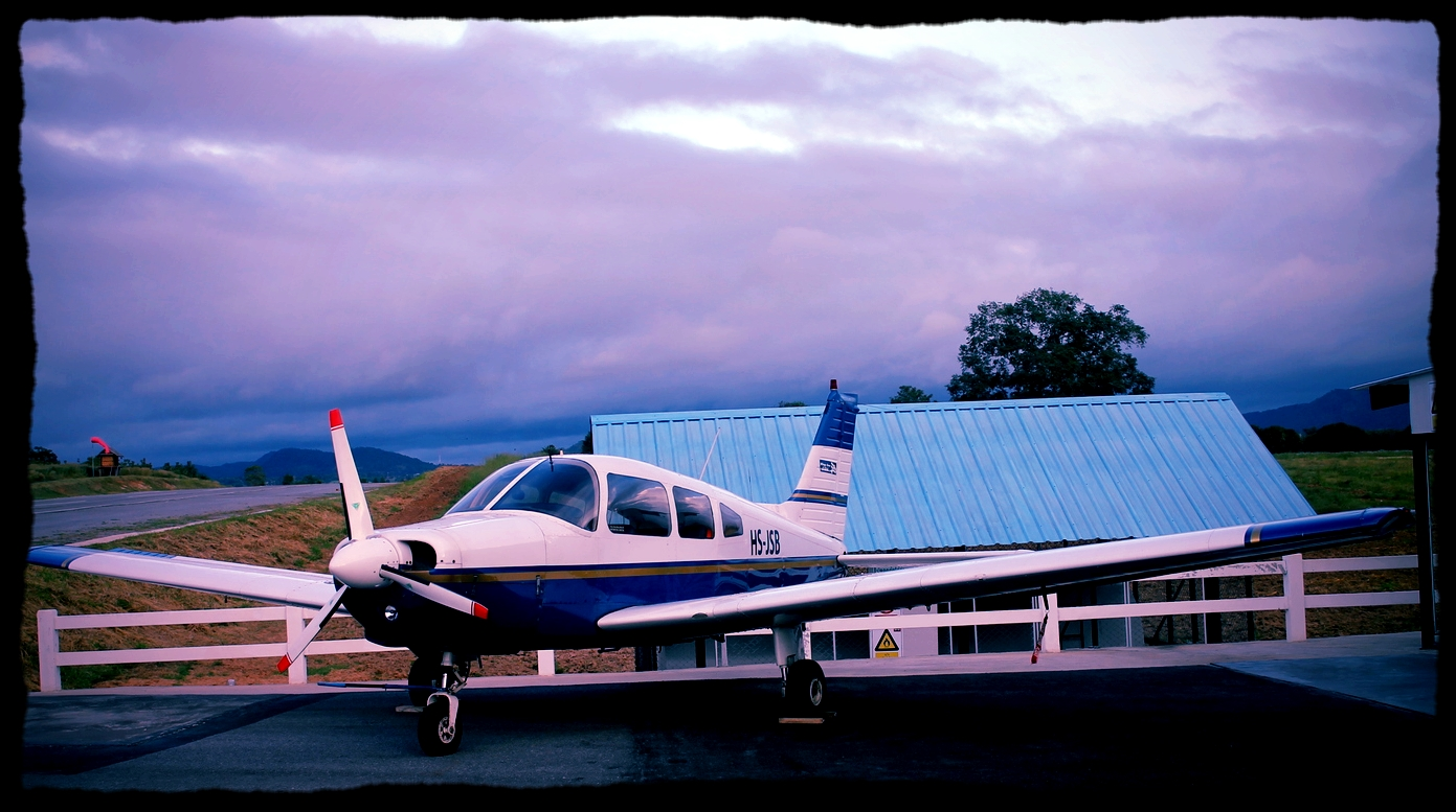 Asia's very 1st Piper with jet-fuel diesel engine based with WOA Thailand