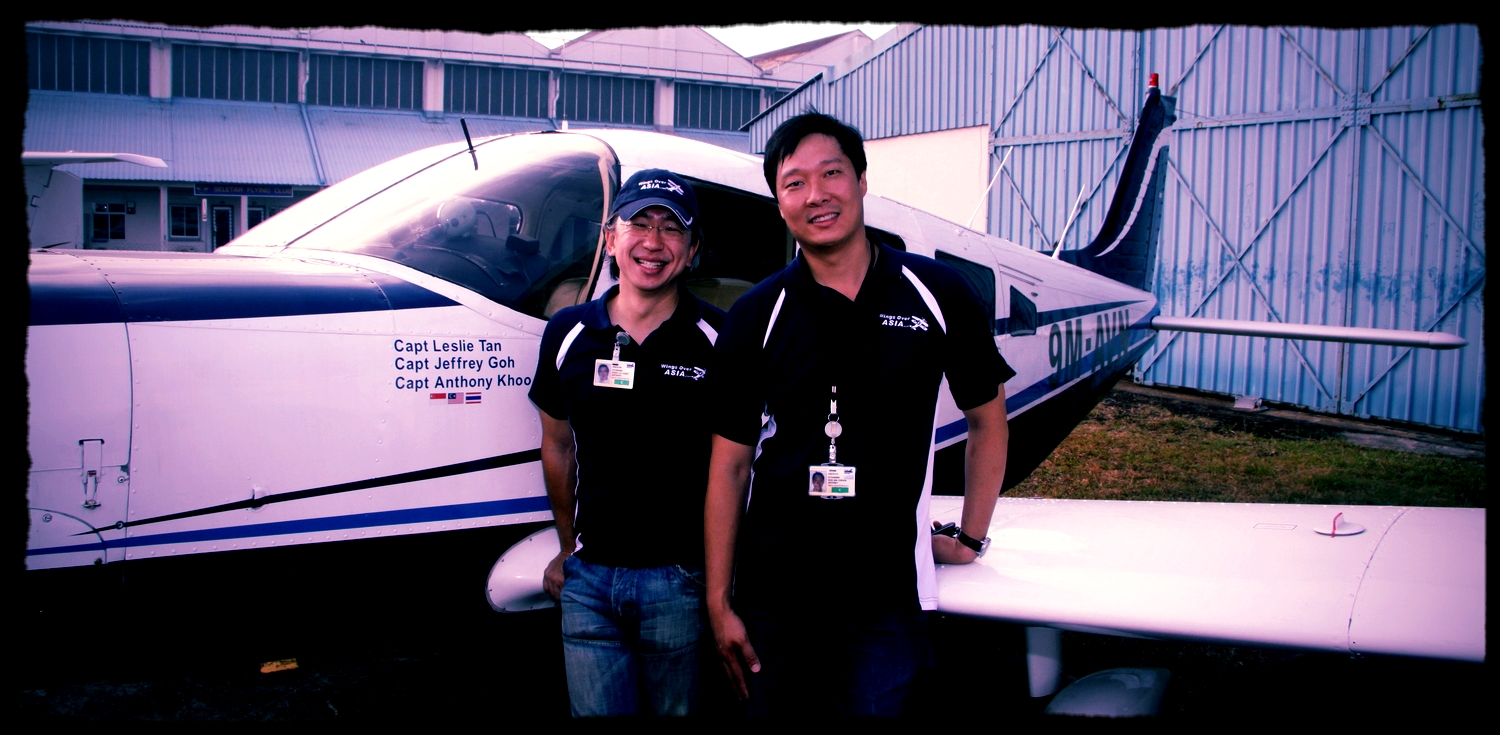 Friendship bond through Piper aircraft co-ownership in Singapore