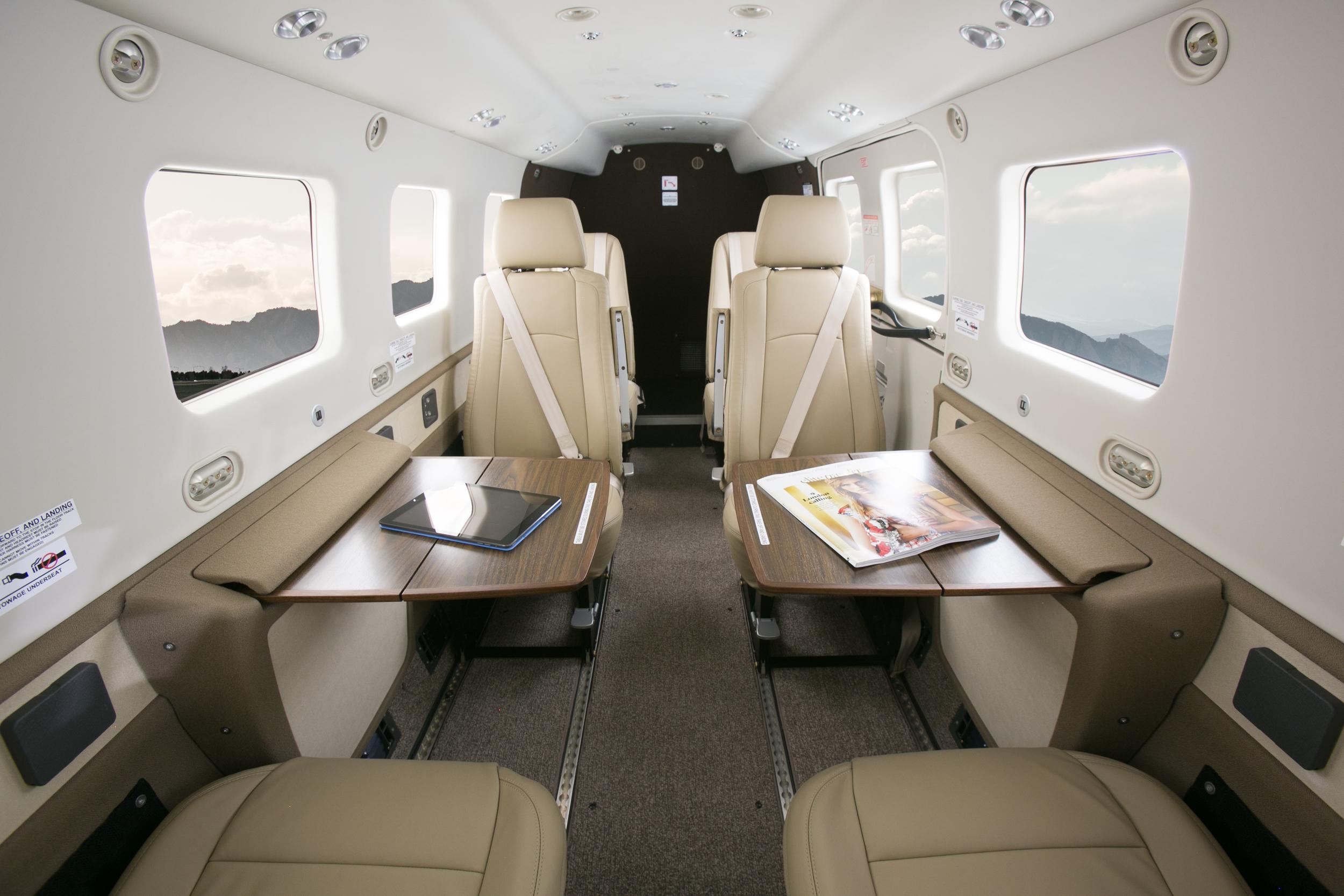 Cabin class passenger comfort