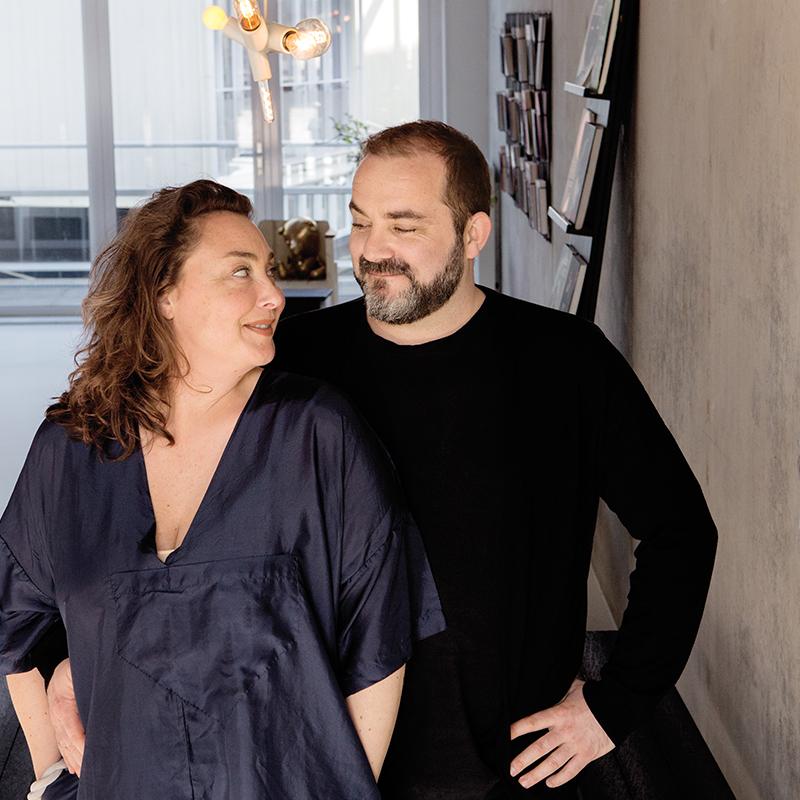 Tatjana Quax and Ben Lambers (Photo: Inga Powilleit)