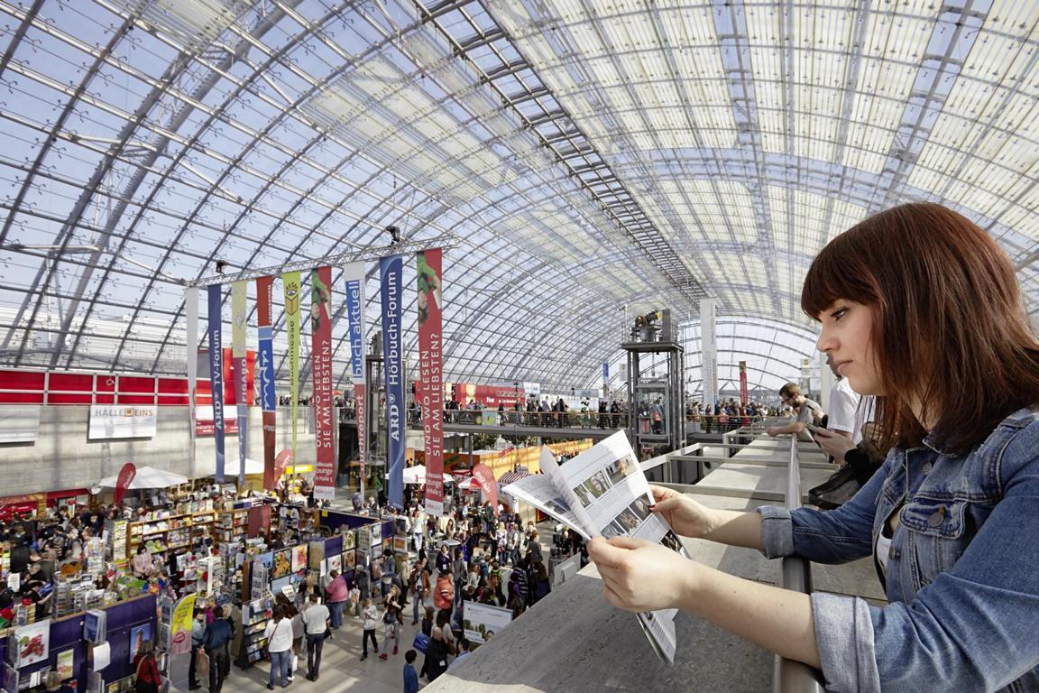 Photo: Neue Messe/Buchmesse; LTM/PUNCTUM