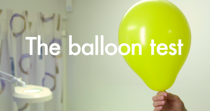 Sound affects people. So do balloons.