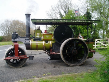 Klondike Club - Traction Engine club open weekend in Staffordshire.