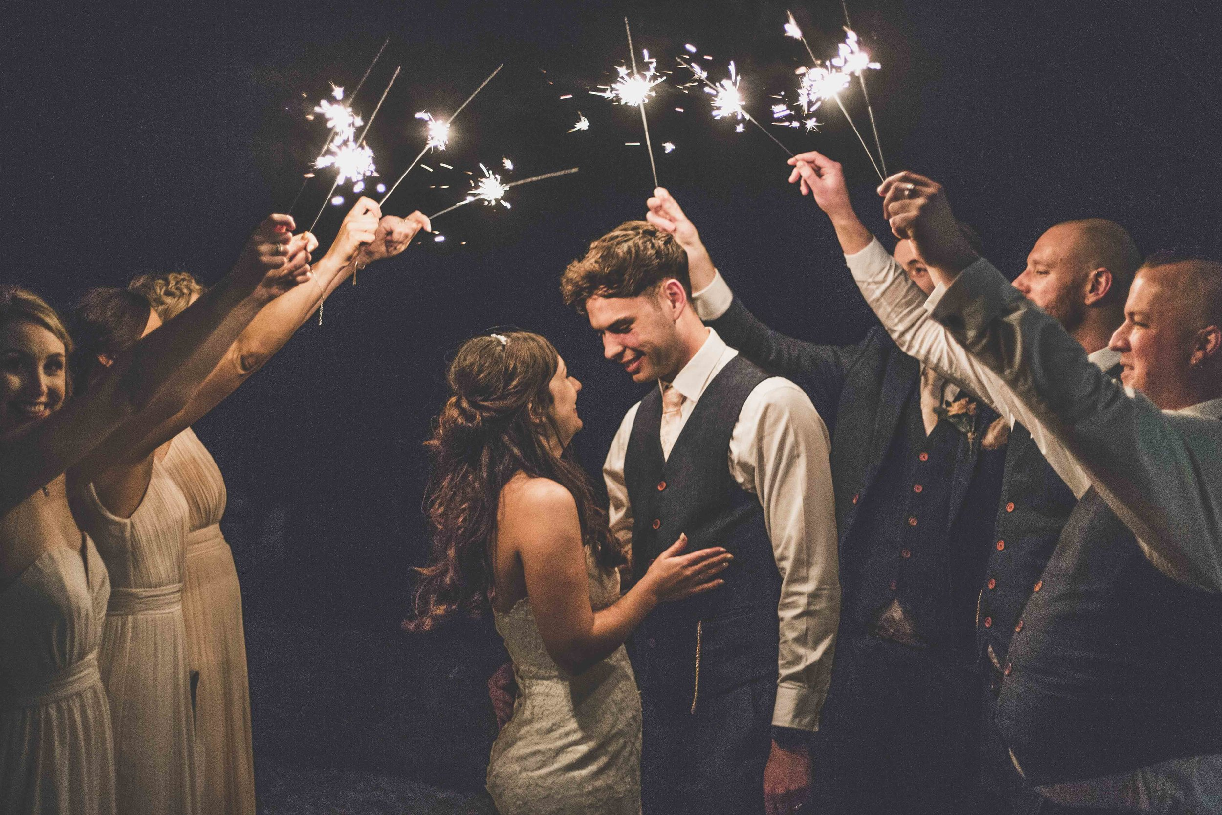 sparkler wedding photography tickton grange.jpg