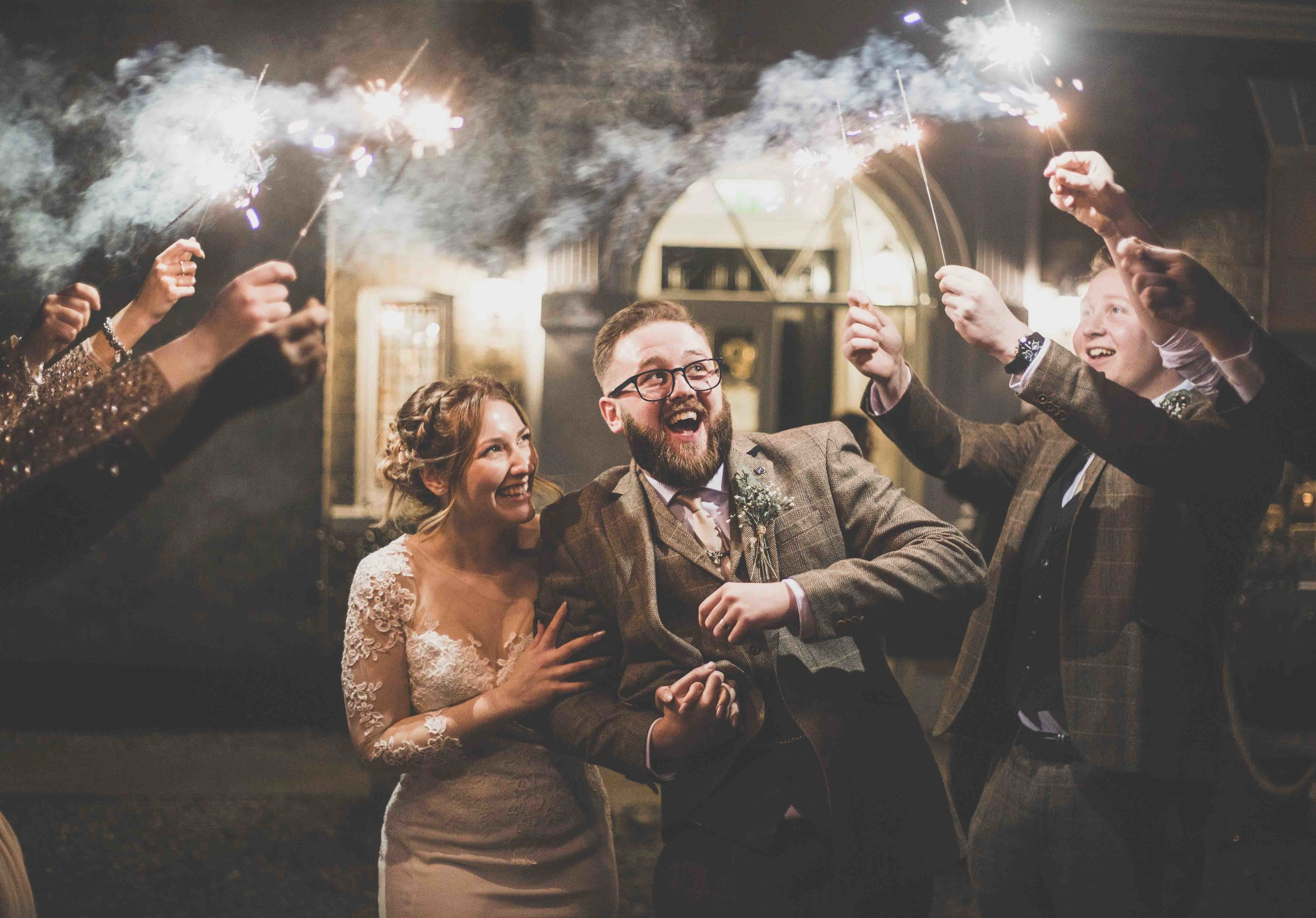 Fun Sparkler Wedding Photography Hull.jpg