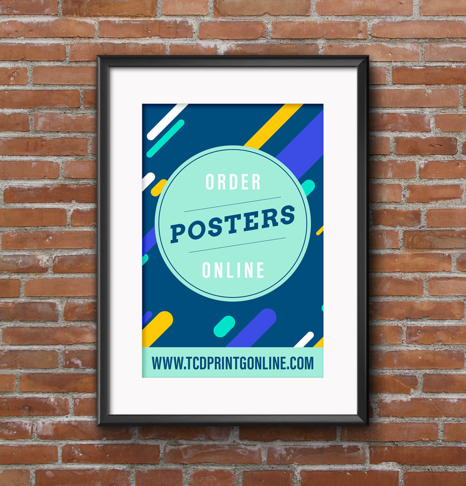 Order posters online from twin City Dwyer Printing