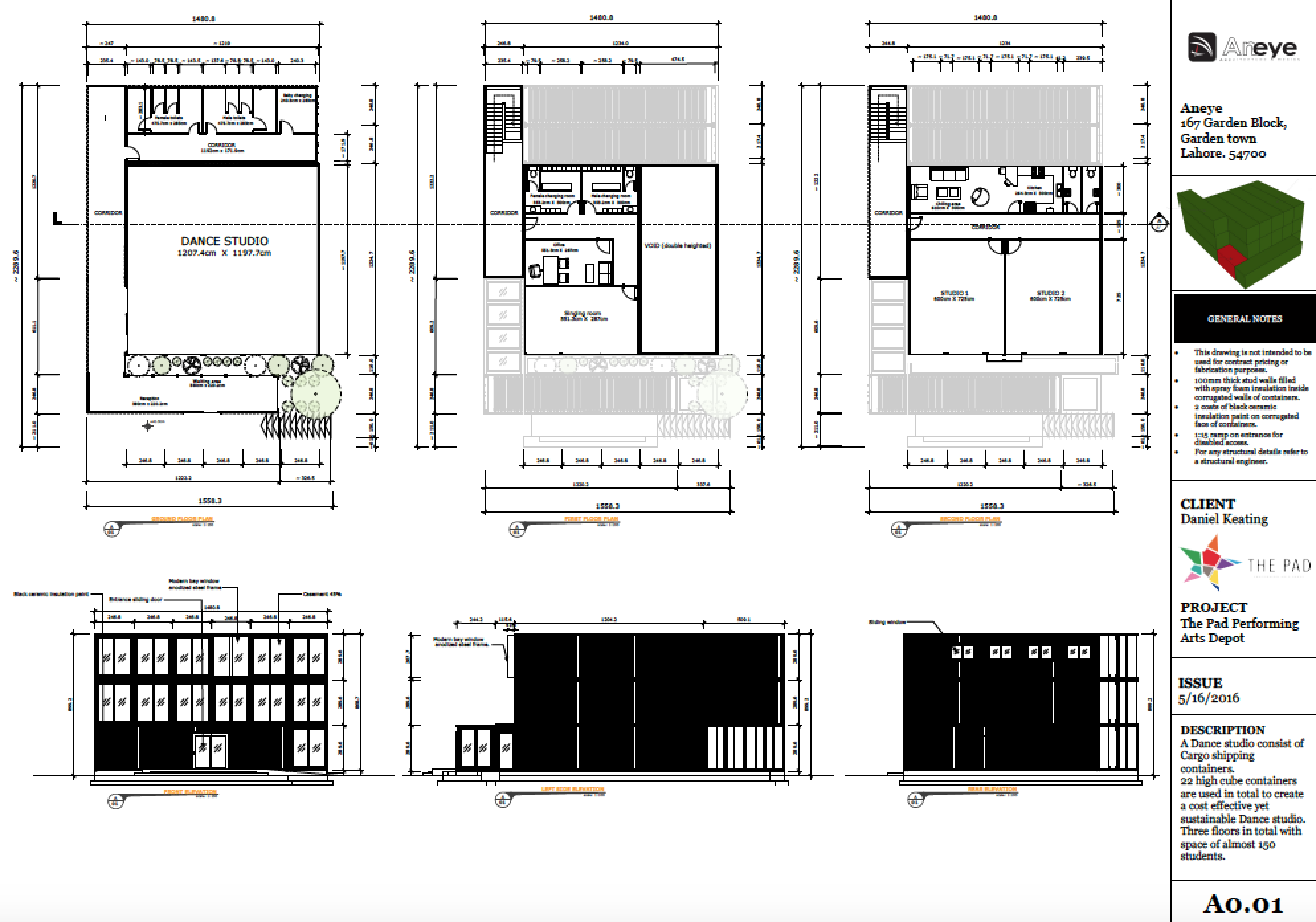 Plans and overview