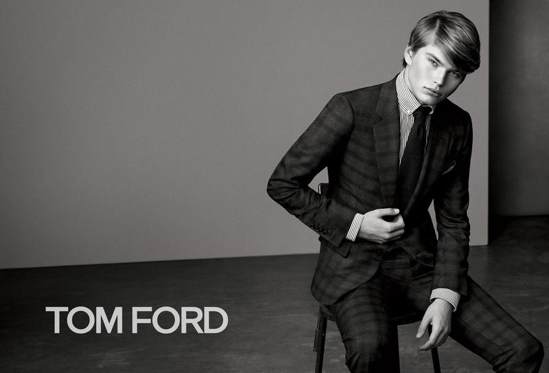 TOM FORD MENS SUITING CAMPAIGN FW 2015 | BJORN IOSS