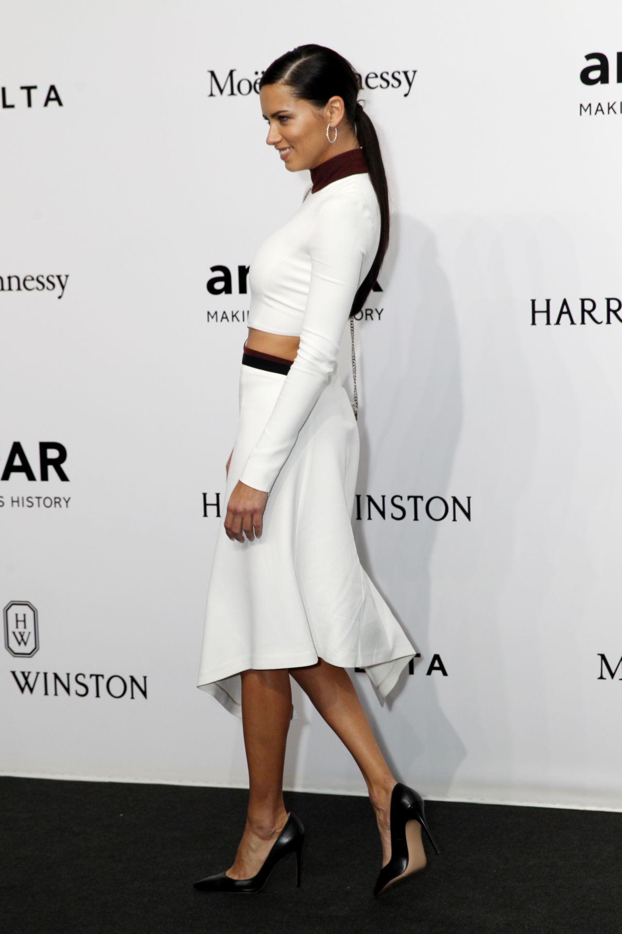 Adriana Lima amFAR Milan September 2017