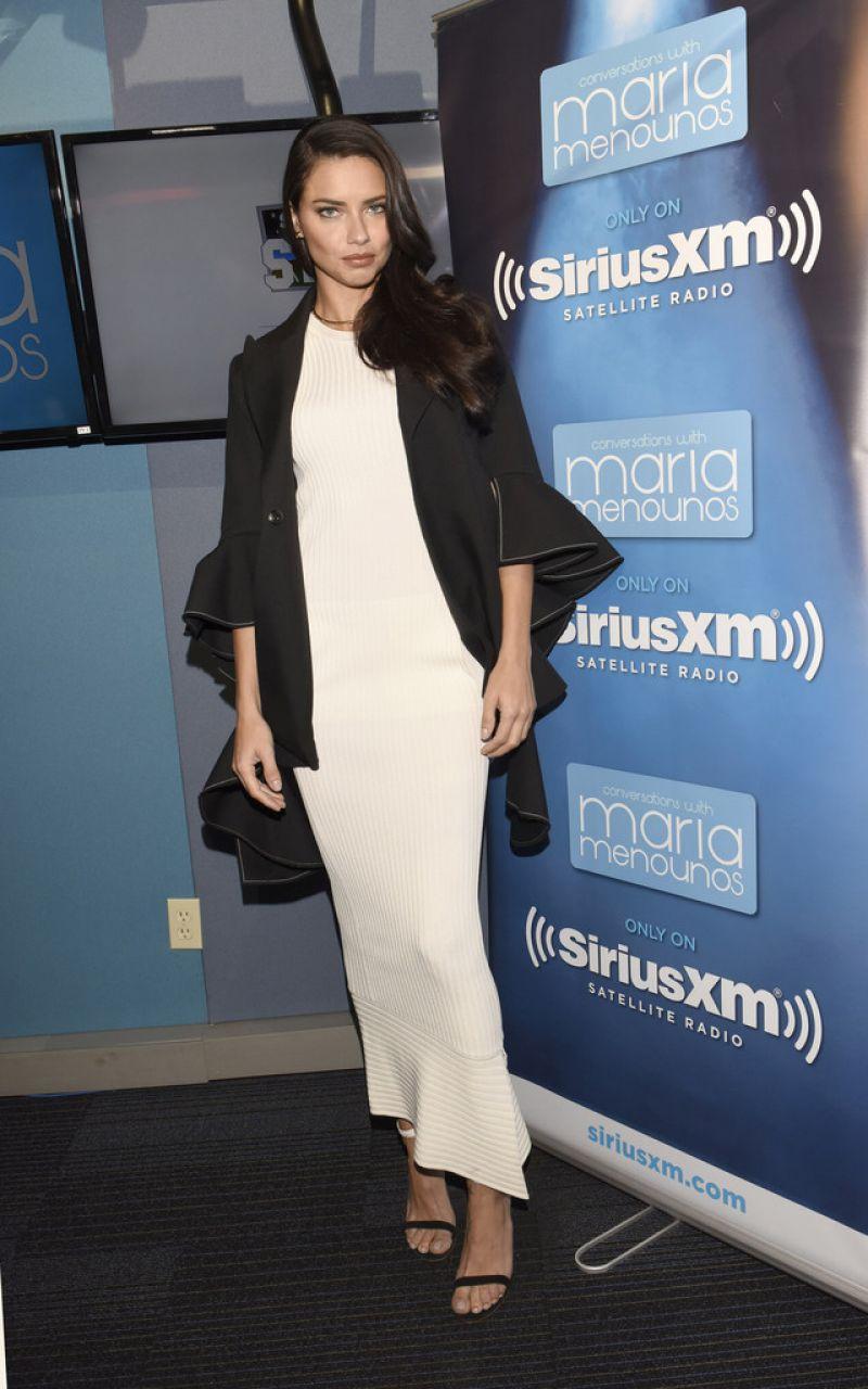 Adriana Lima press tour Los Angeles April 2017