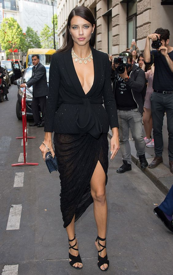 Adriana Lima Chopard event, Paris July 2017
