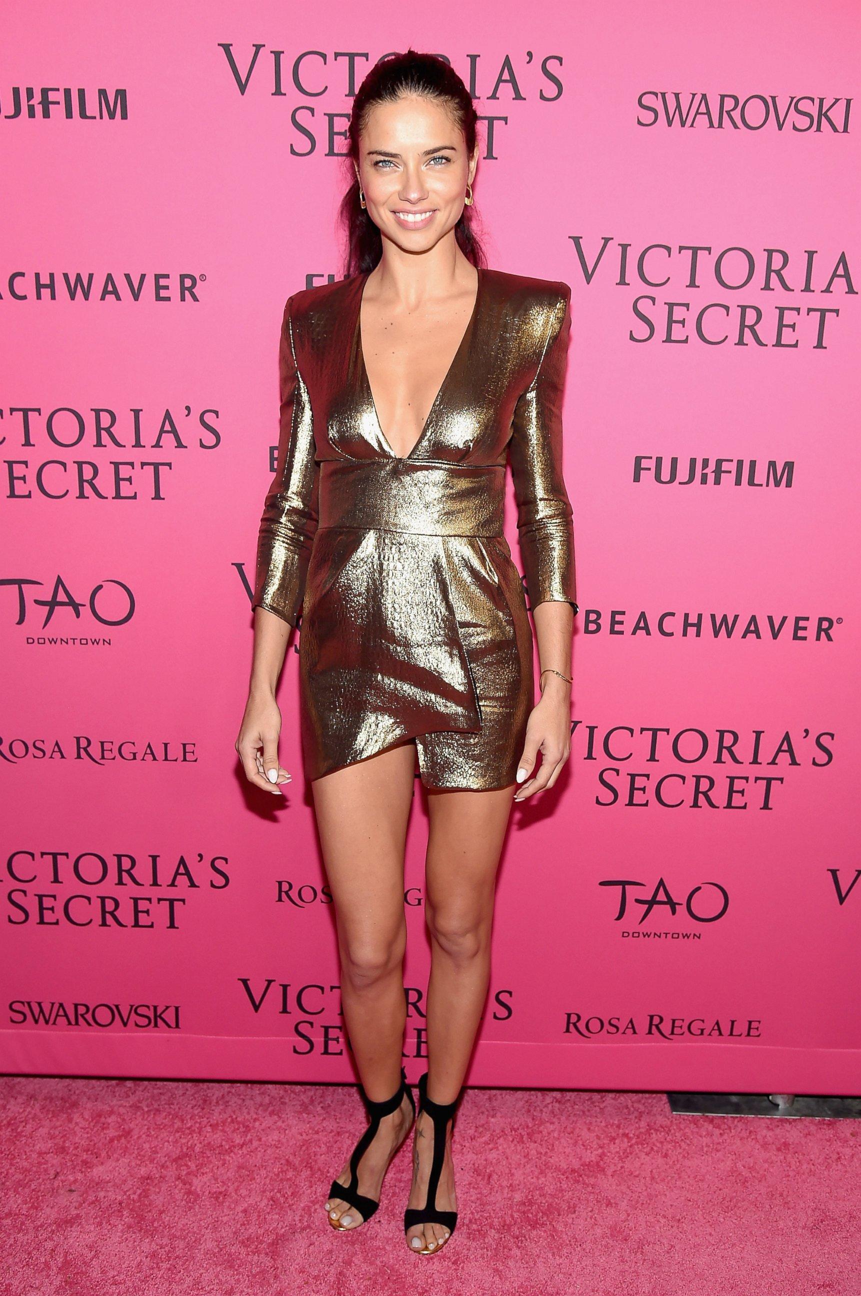 Adriana Lima VS Show After party, NY November 2016