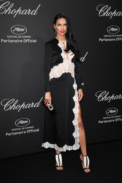 Adriana Lima Chopard Party Cannes, 2016